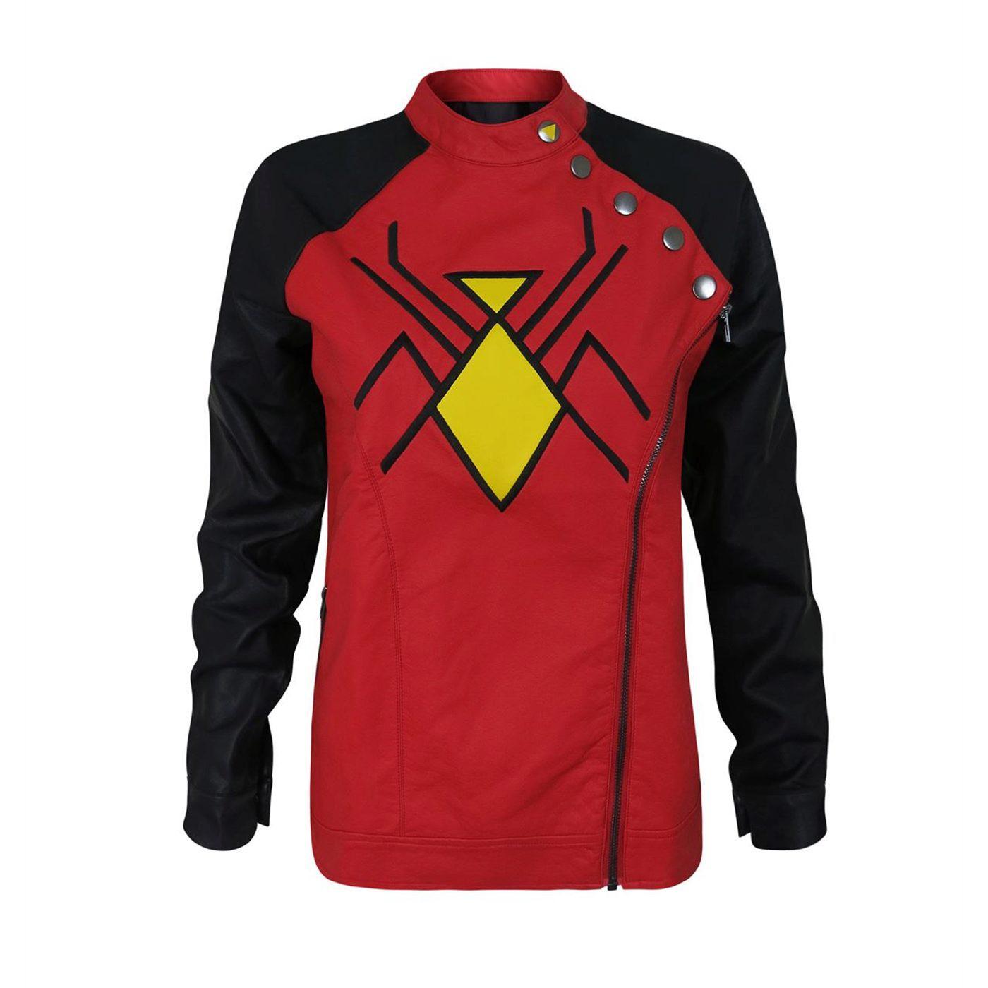 Spider-Woman Moto Women's Jacket