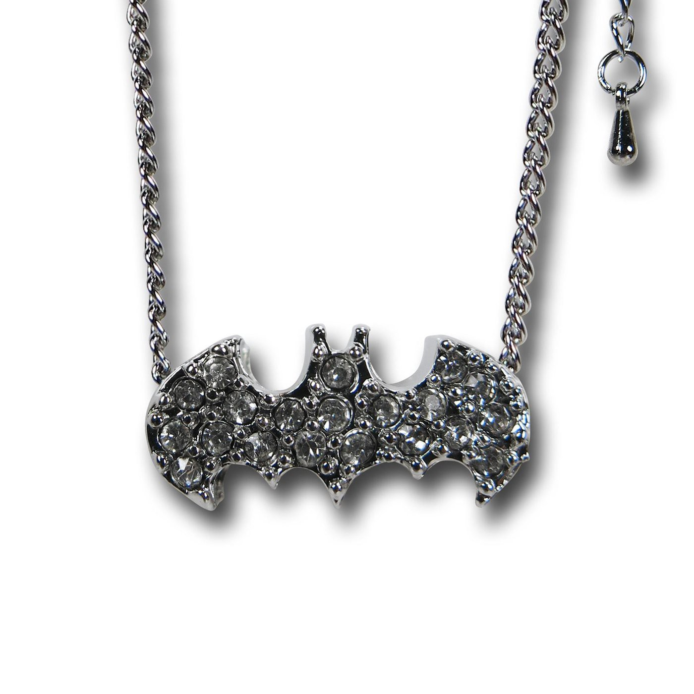 Batman Stone Charm Necklace