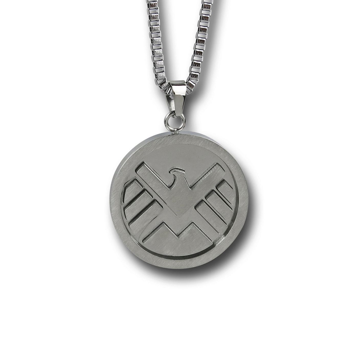 Shield Symbol Pendant Necklace