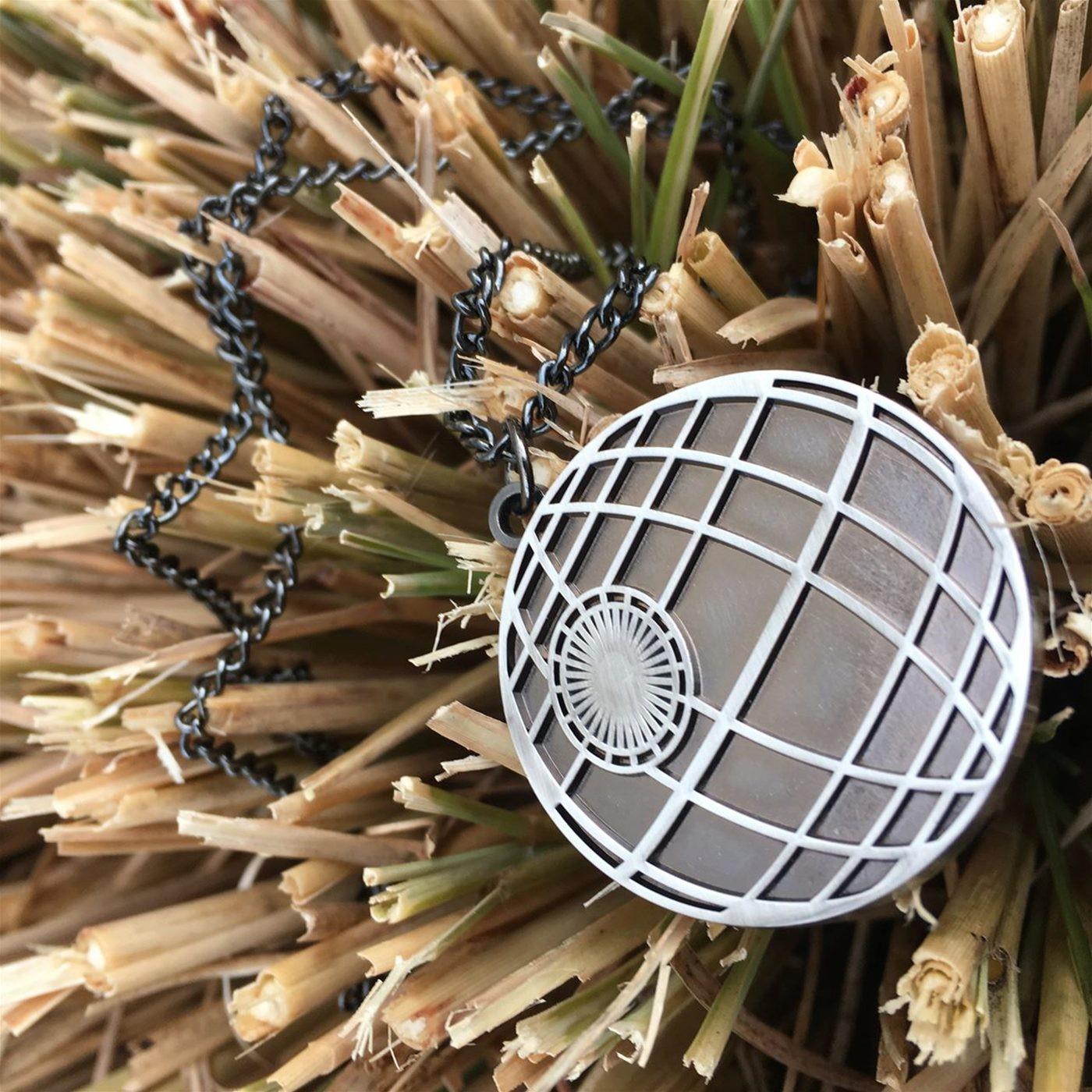Star Wars Death Star Necklace