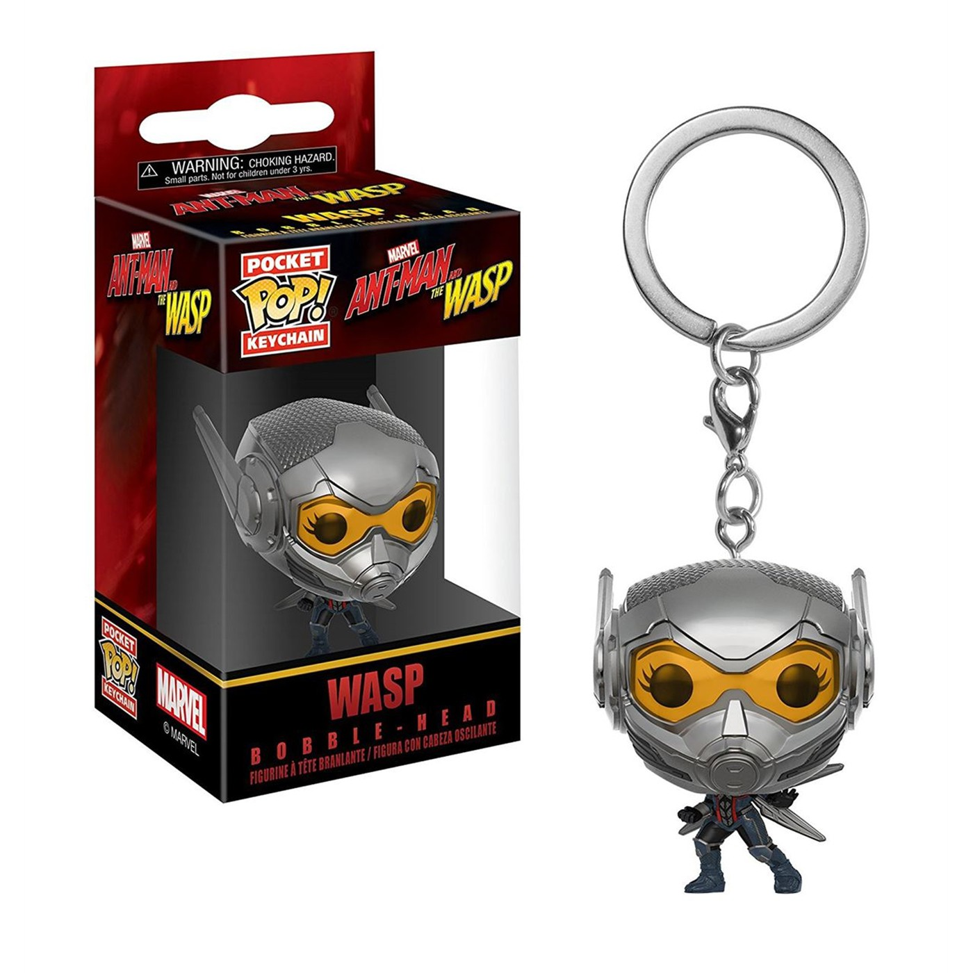 "Ant-Man & The Wasp ""Wasp"" Pocket Pop Keychain"