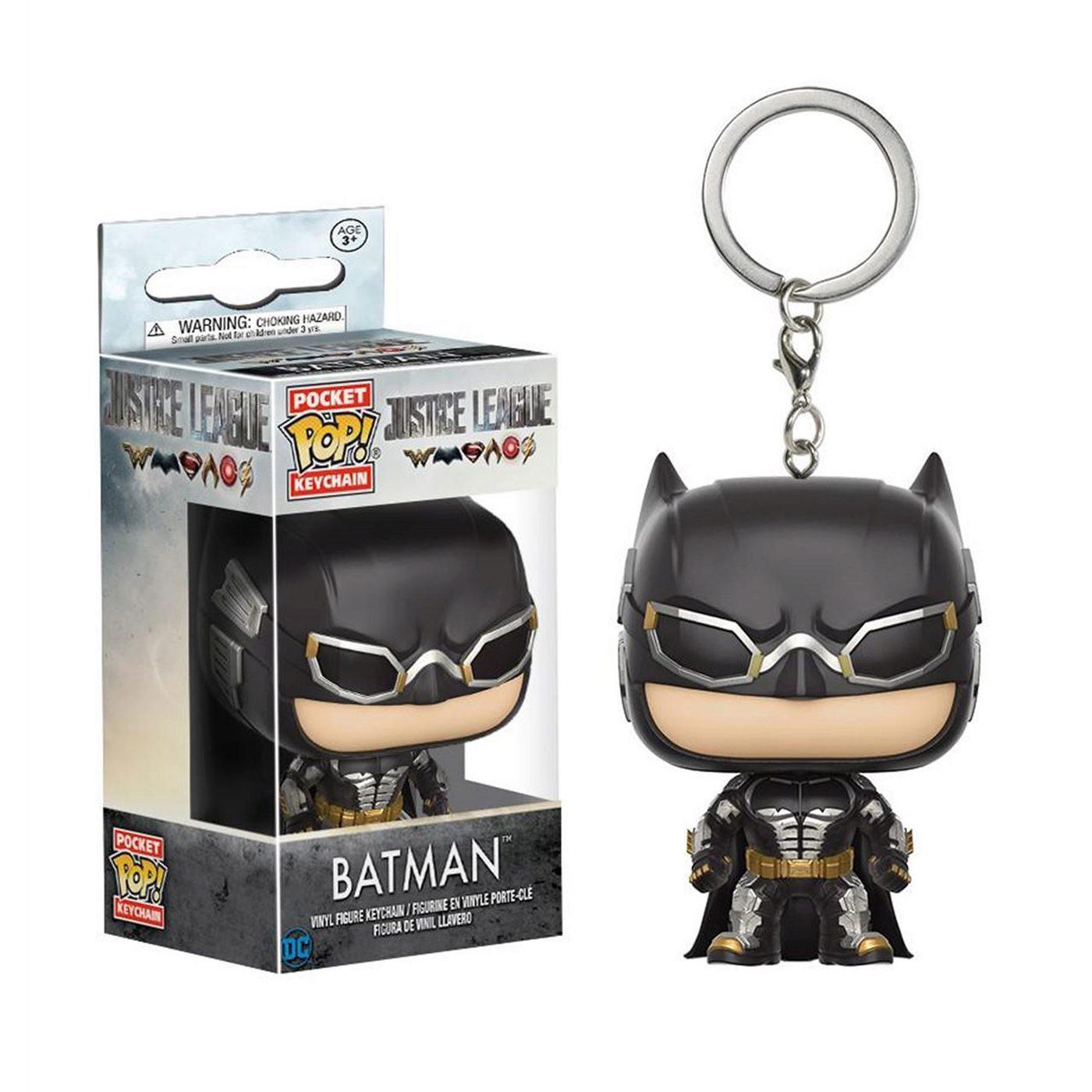 Batman Justice League Movie Pocket Pop Keychain