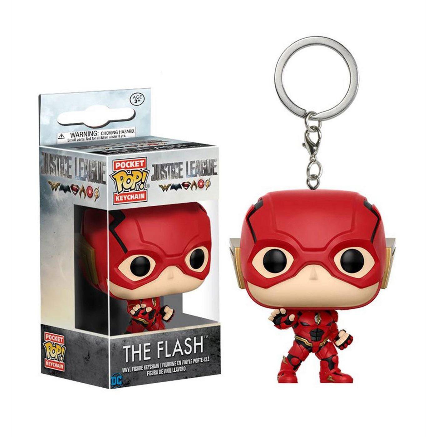 Flash Justice League Movie Pocket Pop Keychain