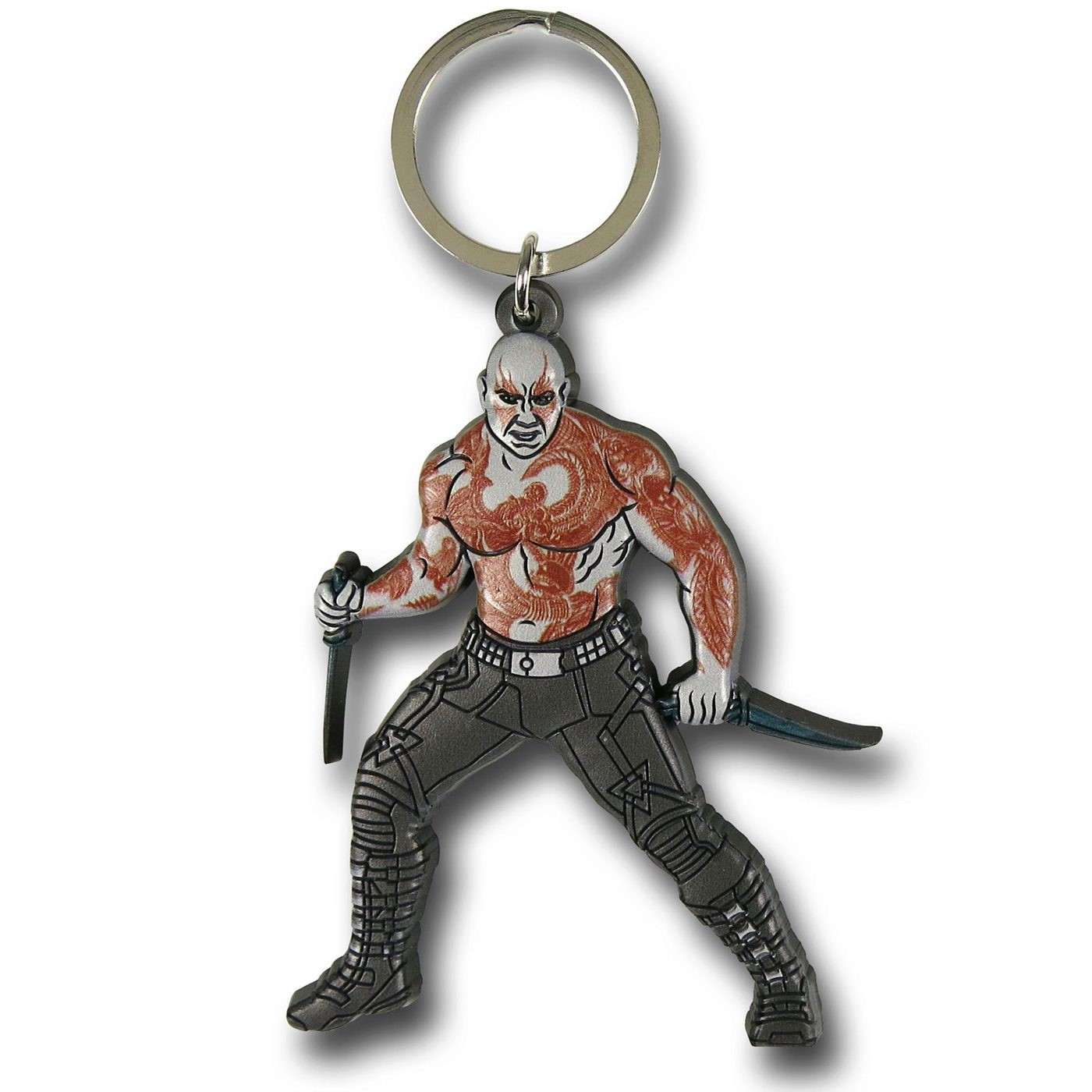 GOTG Drax The Destroyer Soft Keychain