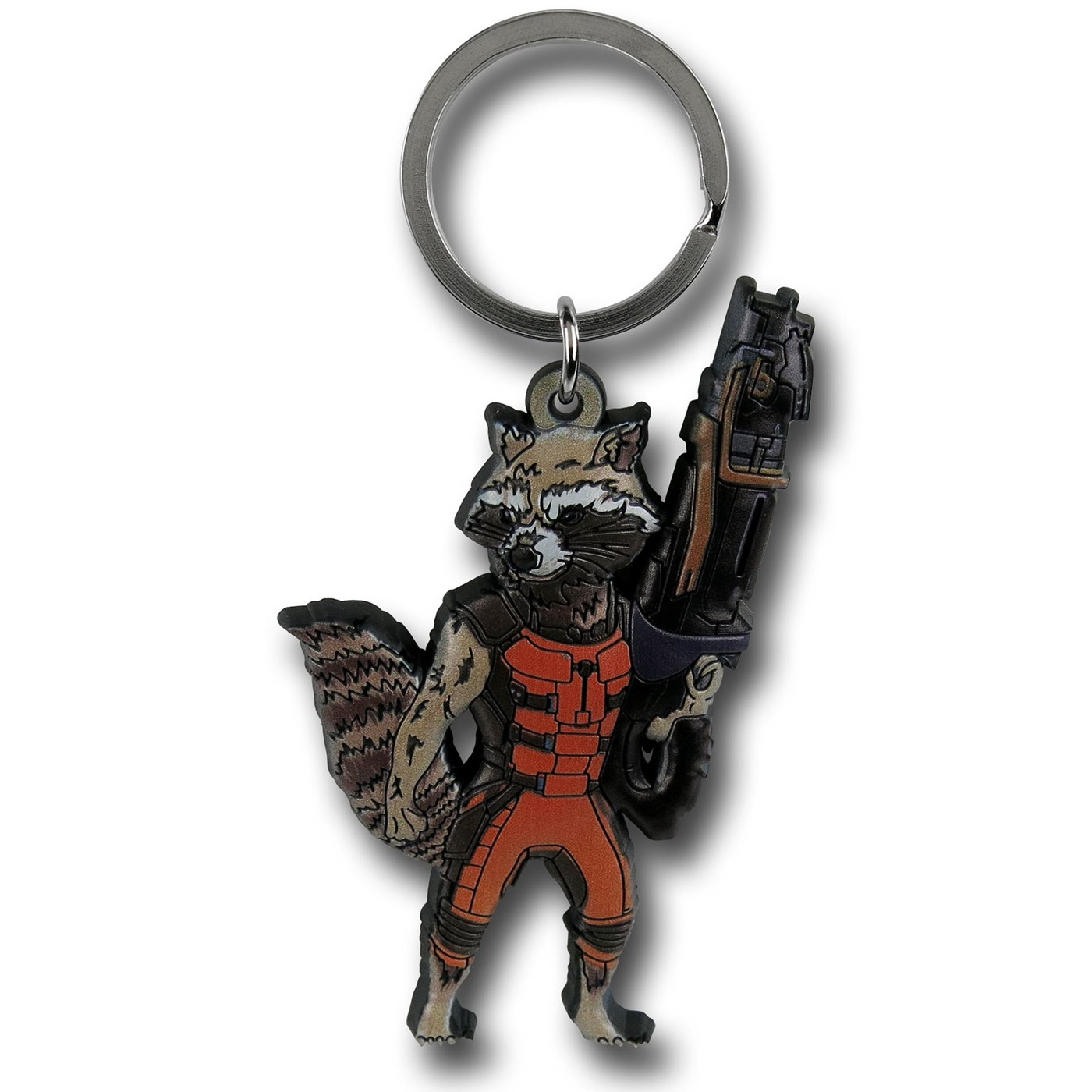 GOTG Rocket Raccoon Soft Keychain
