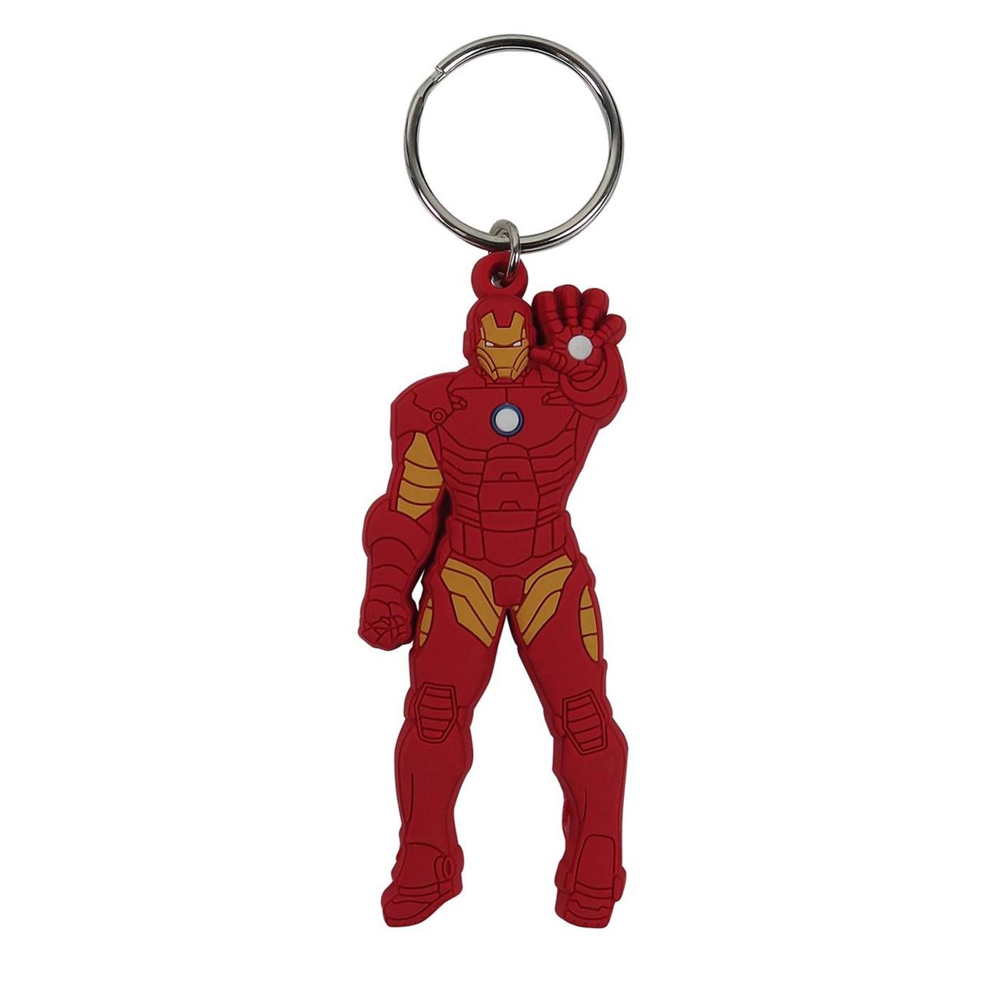 Iron Man Stance PVC Keychain