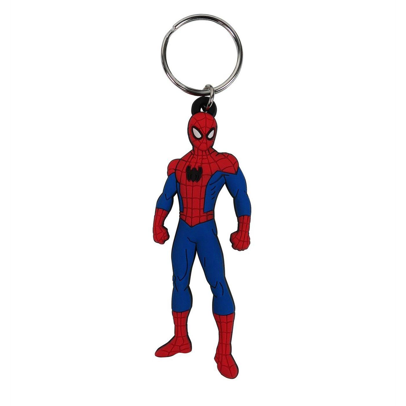 Spider-Man Stance PVC Keychain