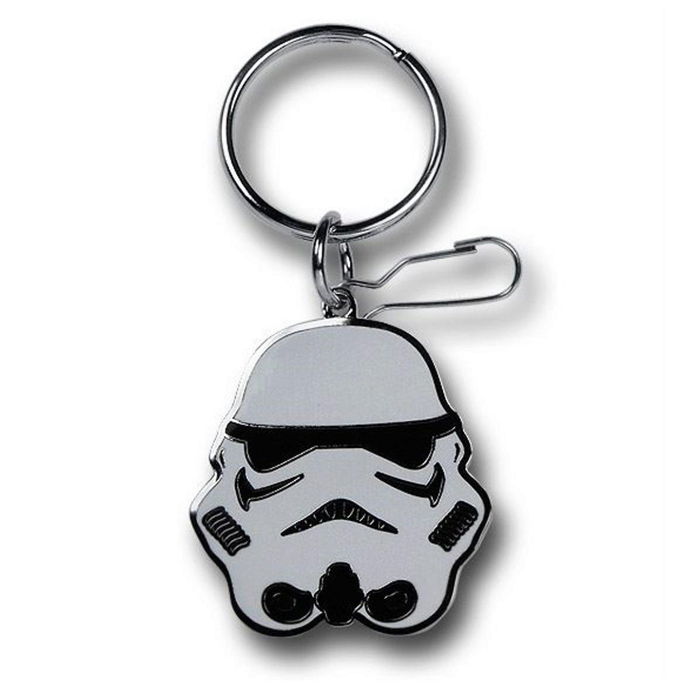 Star Wars Stormtrooper Enamel Keychain