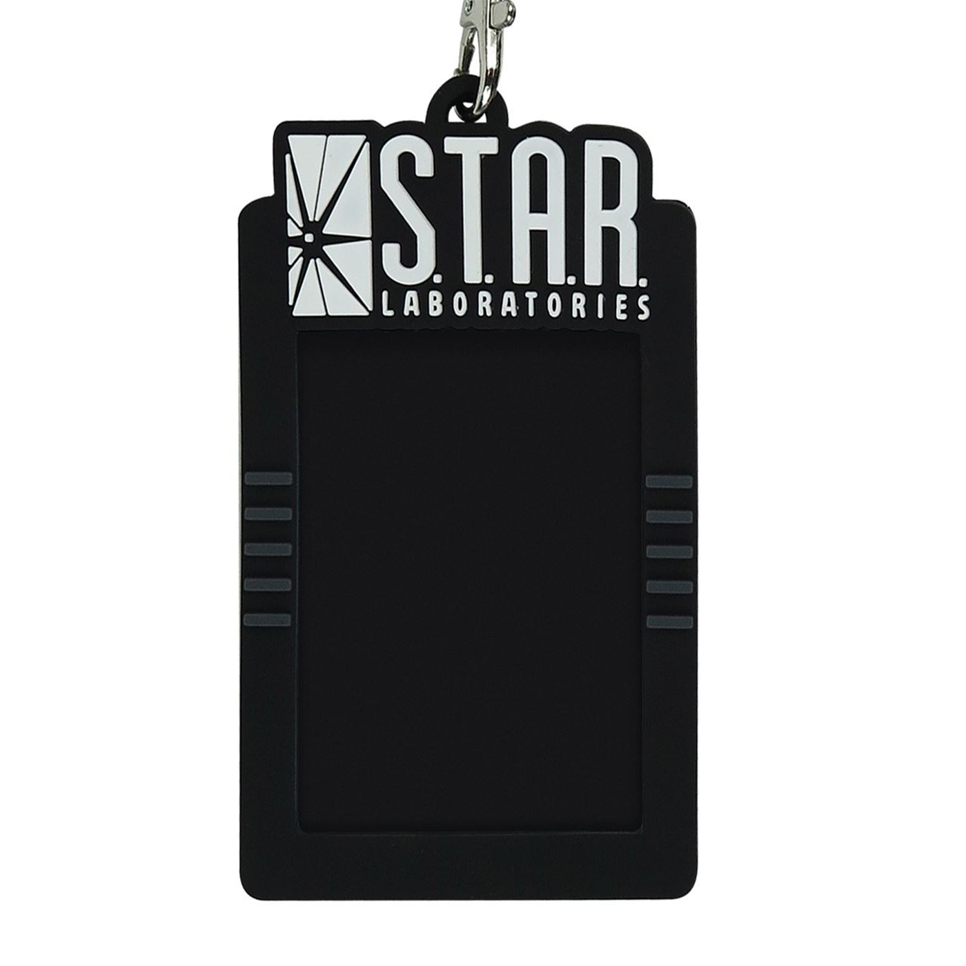 Flash Star Labs Lanyard with Rubber ID Holder