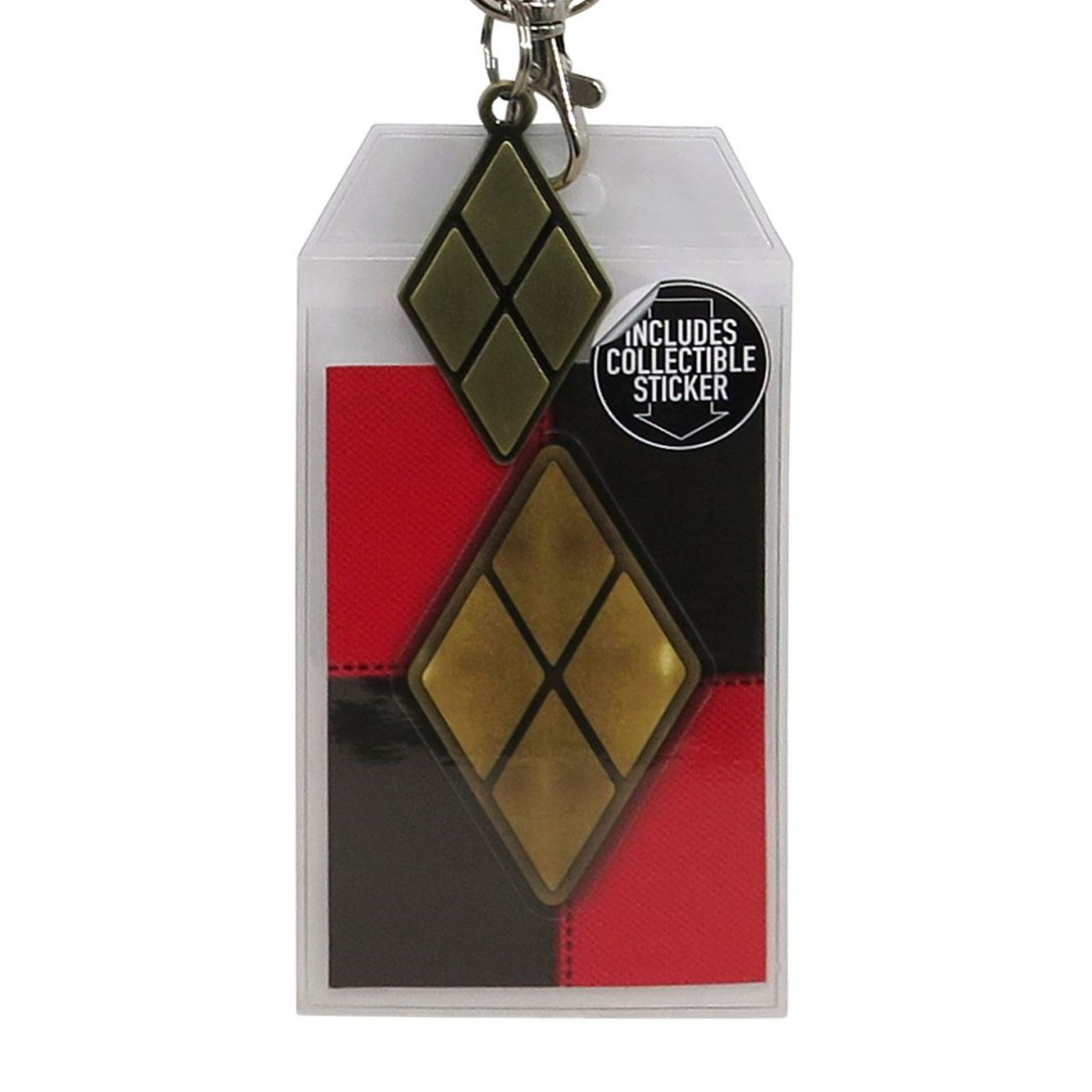 Harley Quinn Suit Up Lanyard with Metal Charm