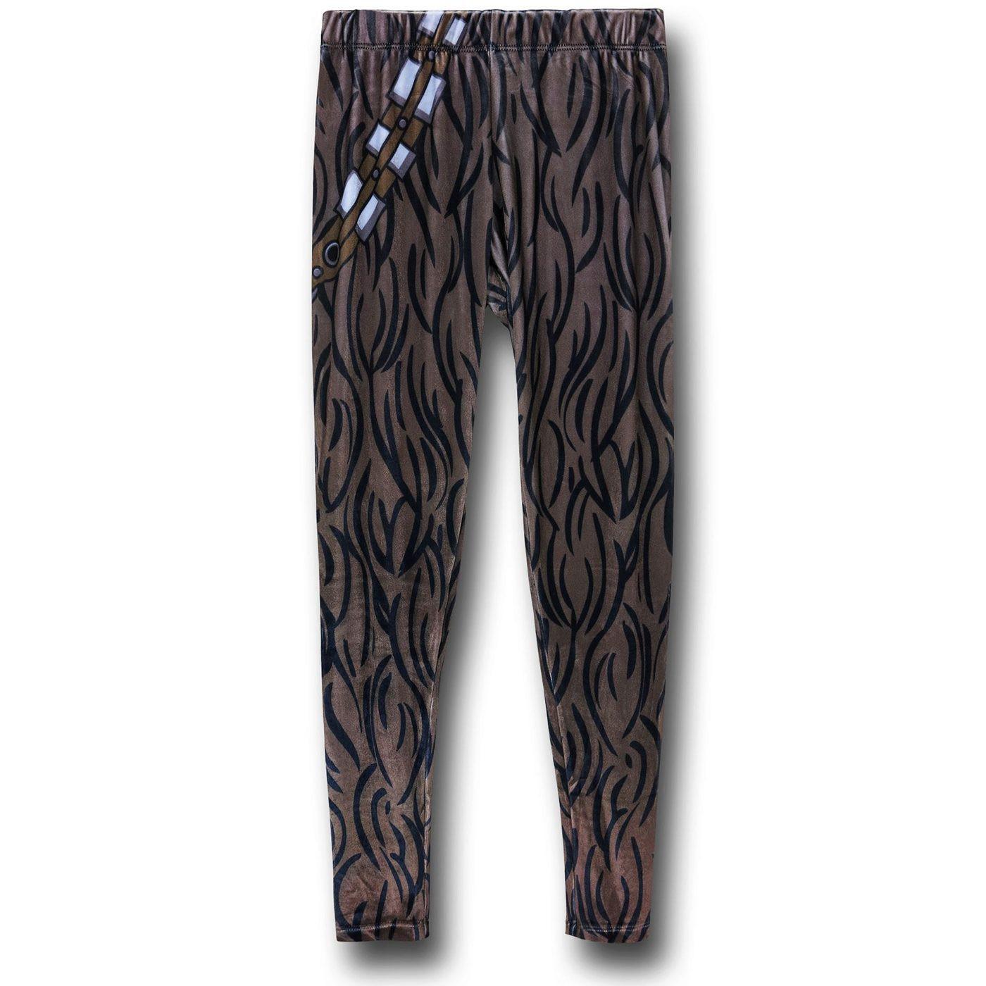 Star Wars Velvet Chewbacca Leggings