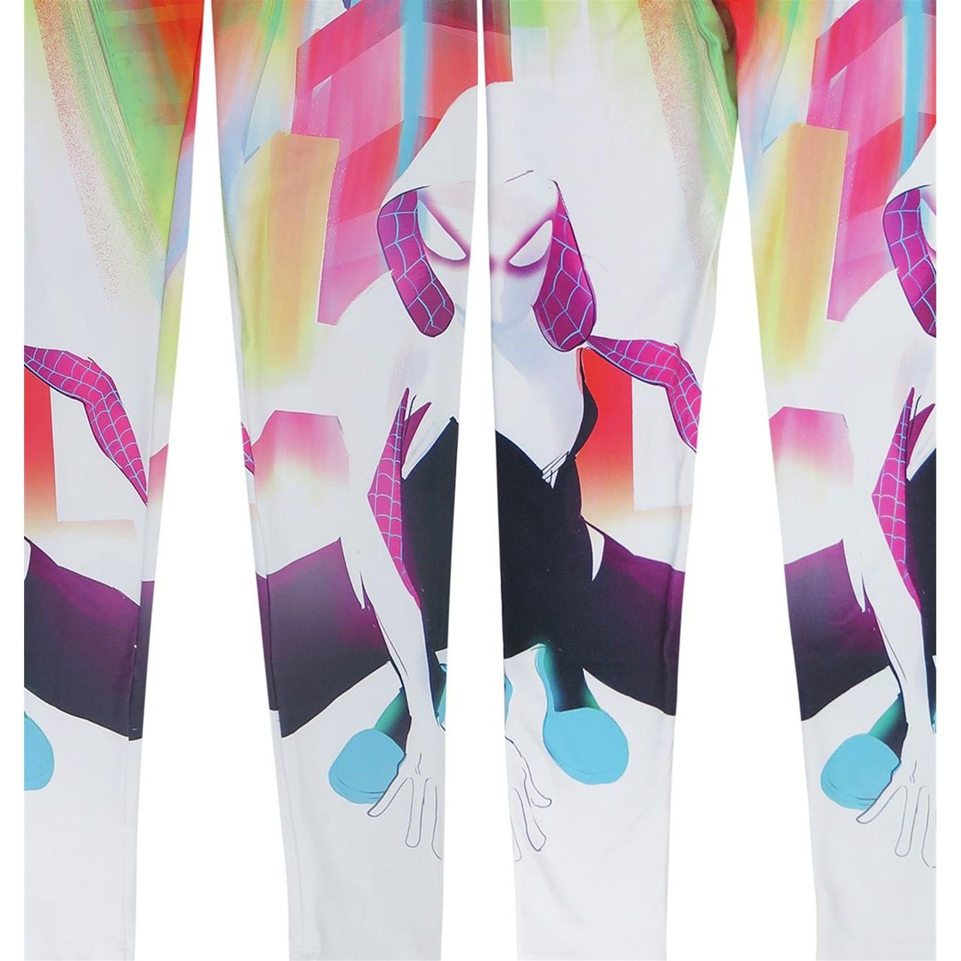 Spider Gwen Crouch Women's Leggings