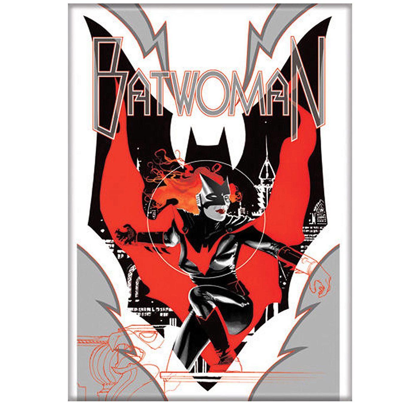 Batwoman Batscape Magnet