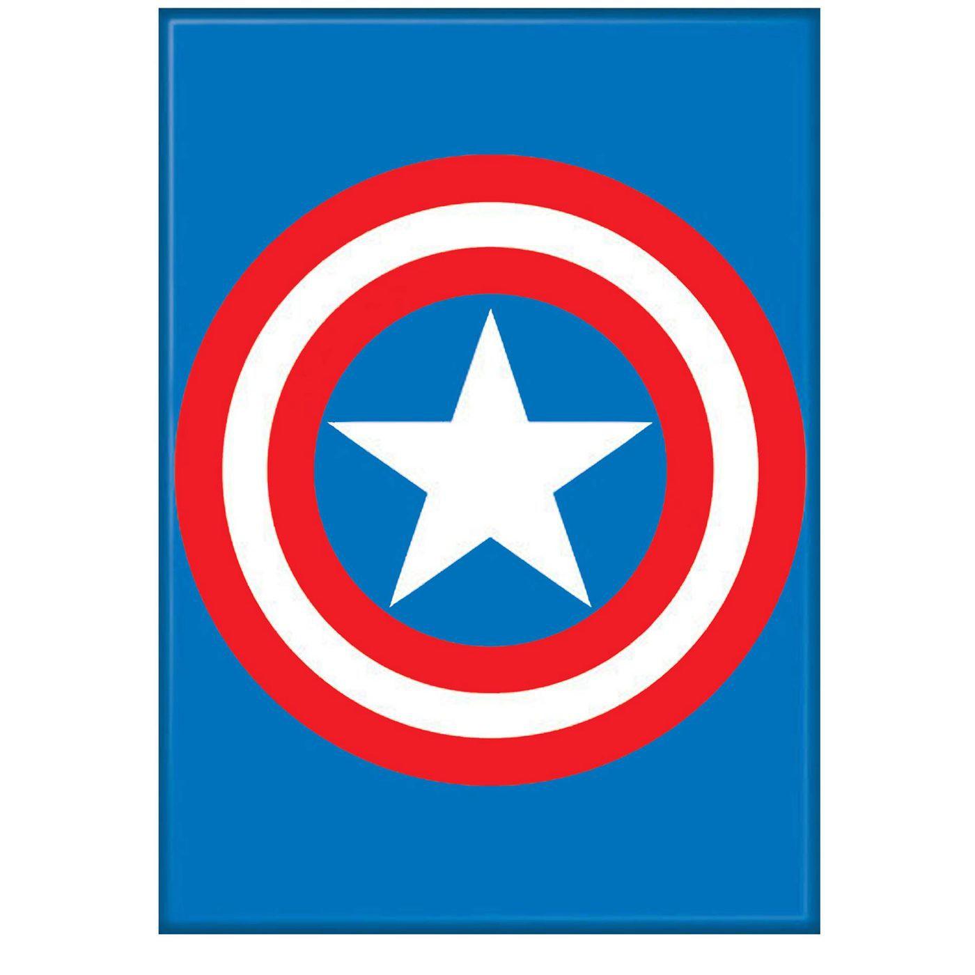 Captain America Shield Symbol Magnet