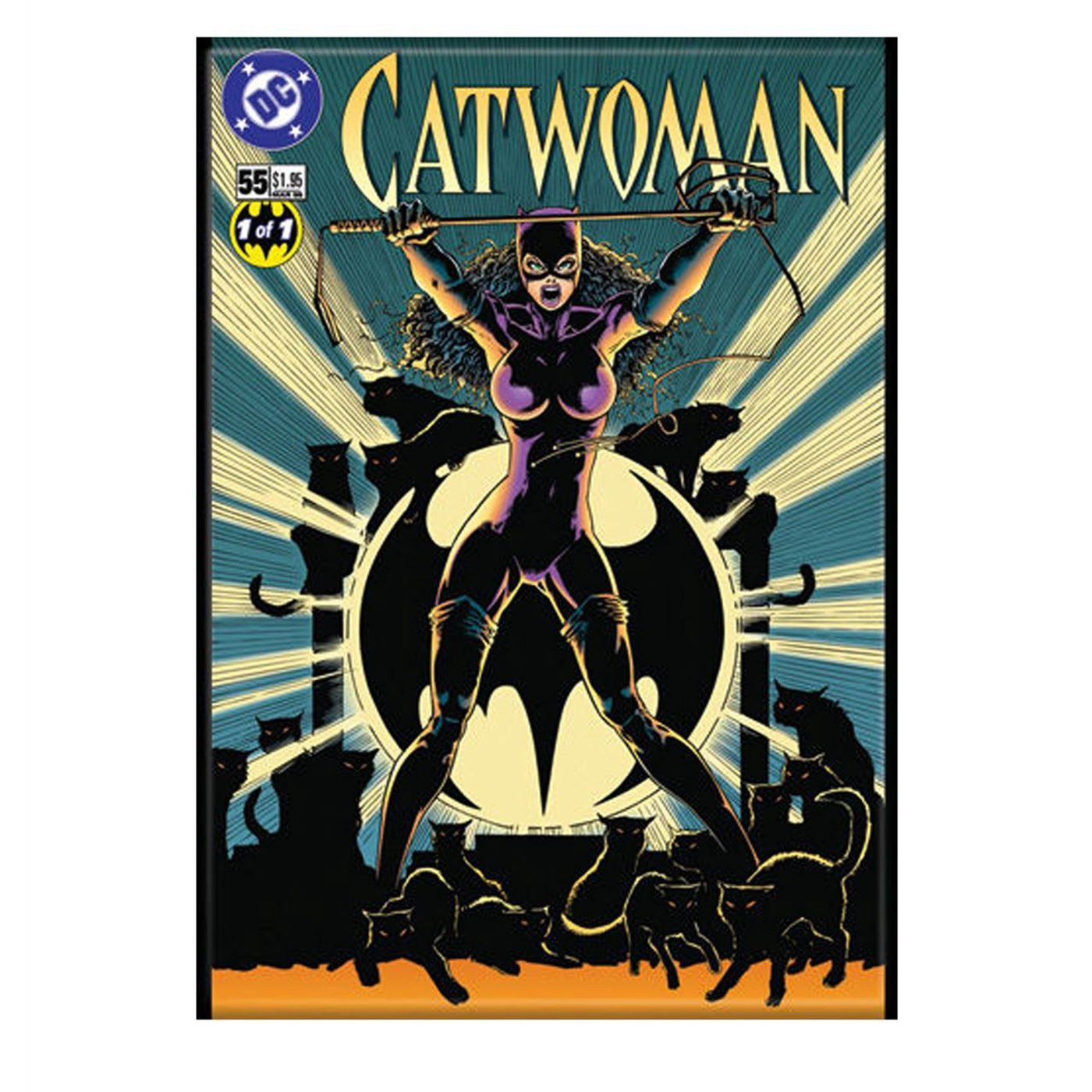 Catwoman Comic Cover Magnet