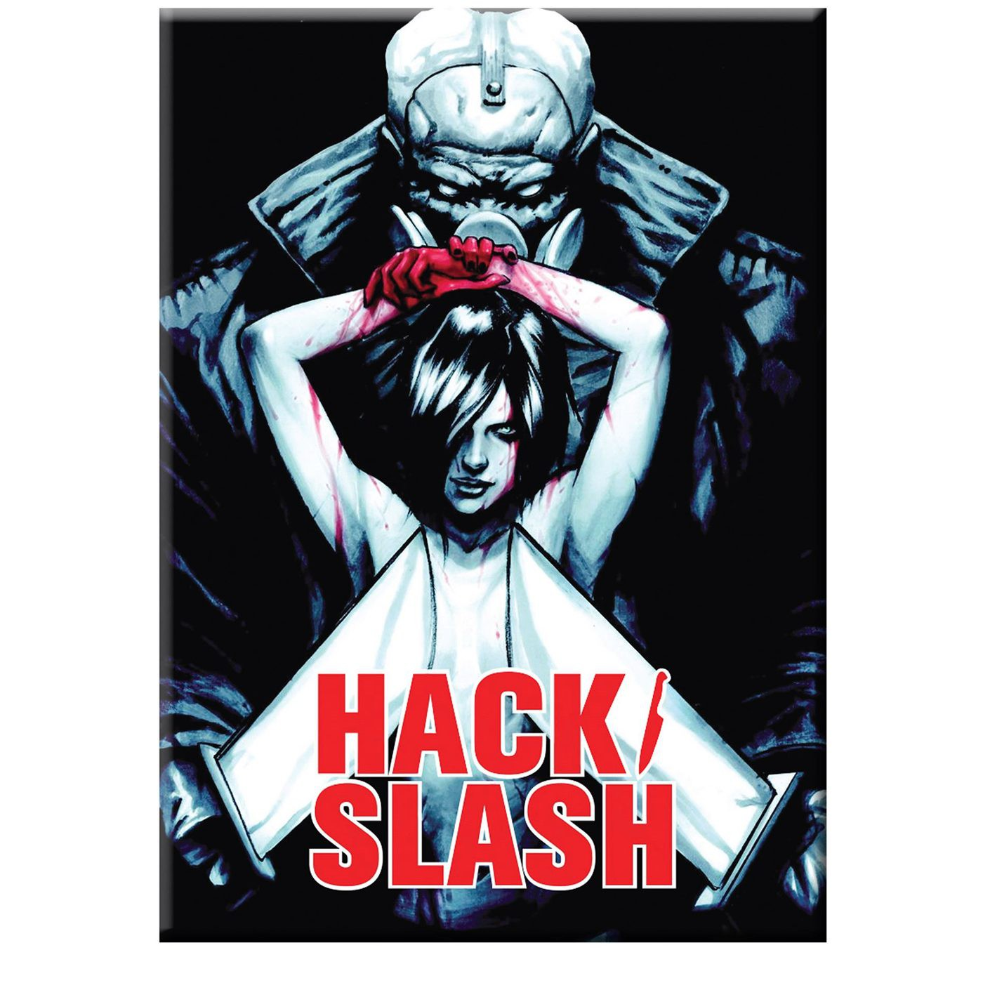 Hack Slash Vlad and Cassie Magnet