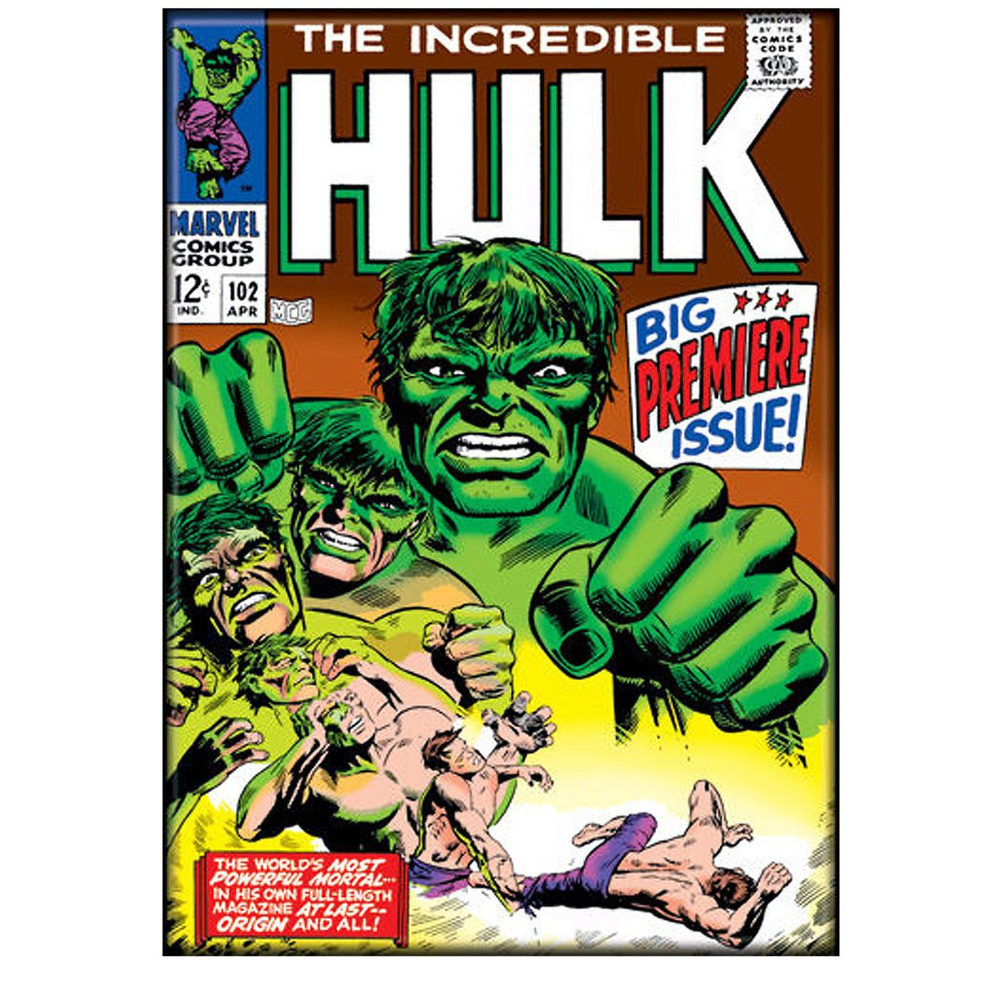 Incredible Hulk #102 Cover Magnet