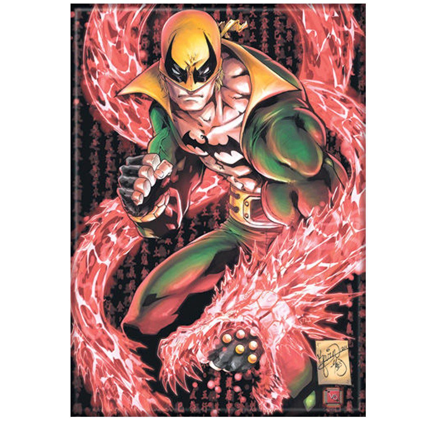 Iron Fist Dragon Magnet