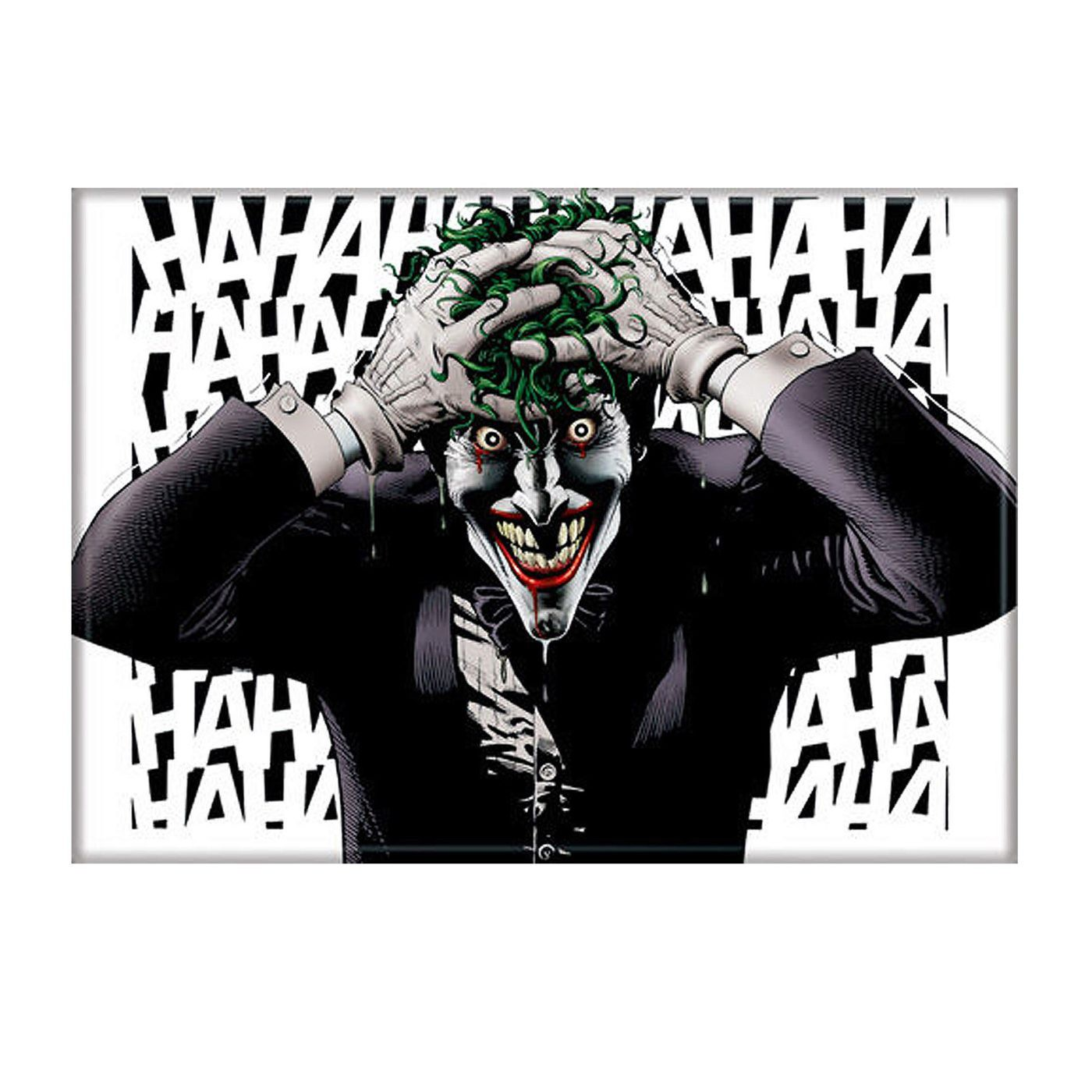 Joker HAHAHA The Killing Joke Magnet