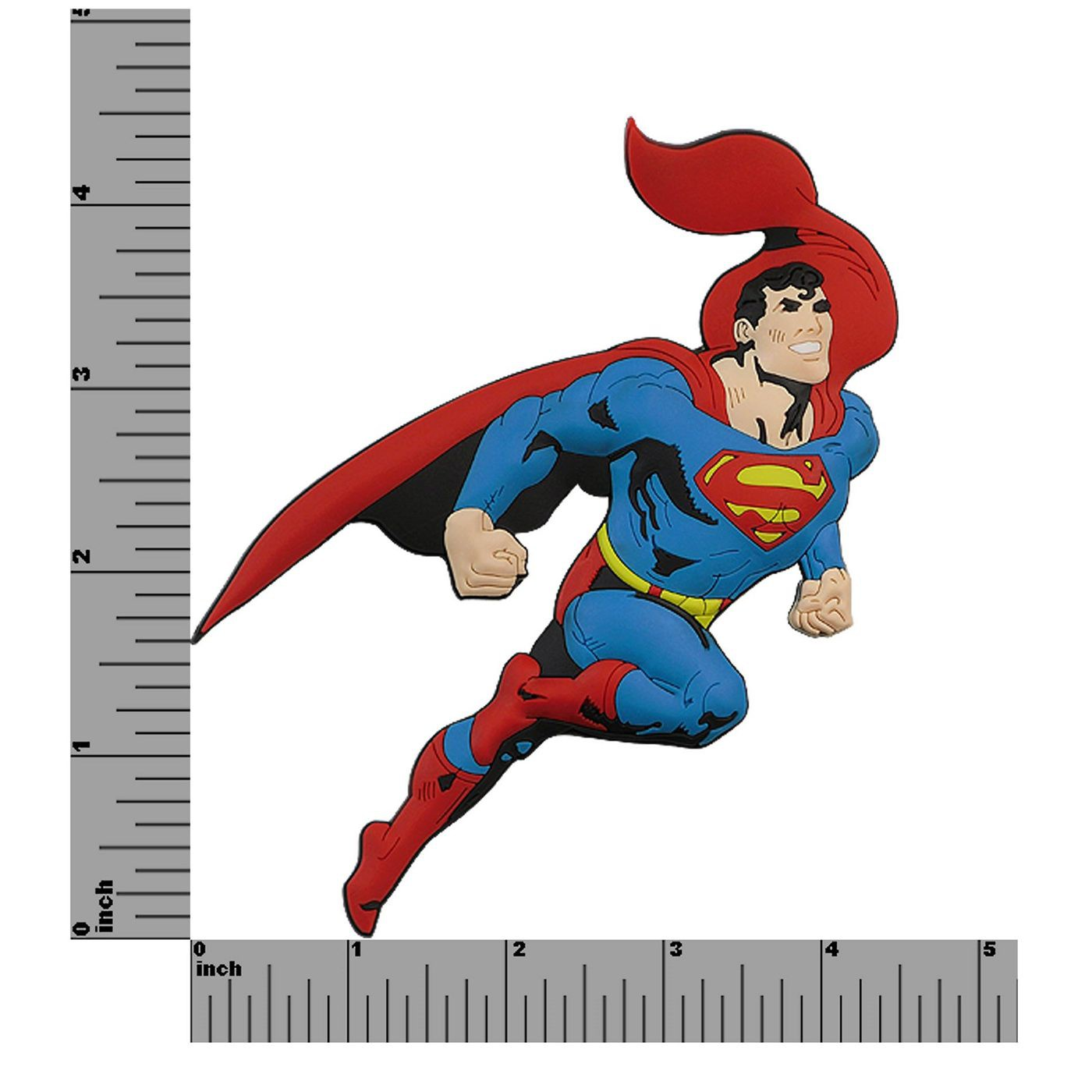 Superman 3D Die Cut Rubber Magnet
