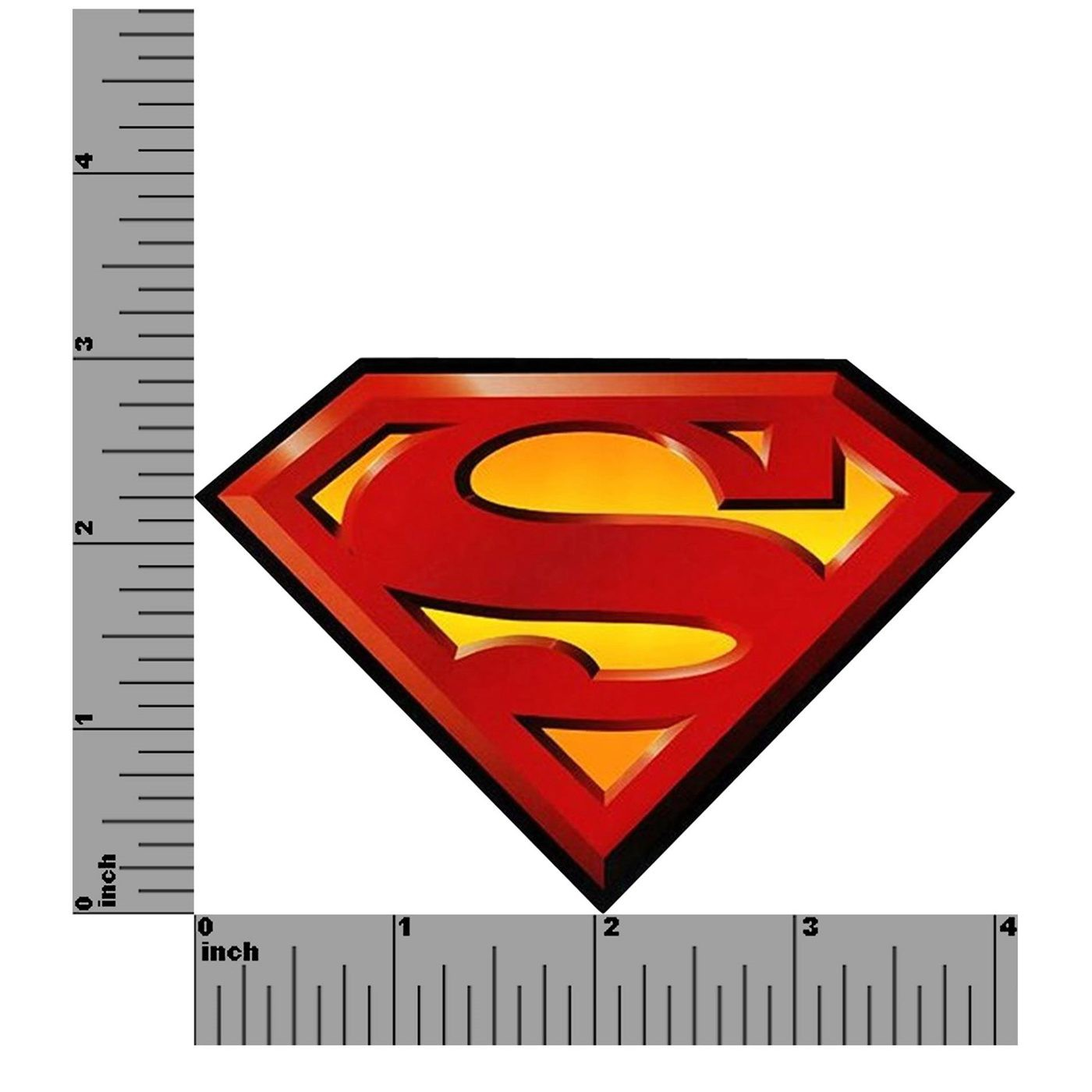 Superman Symbol Shiny Magnet