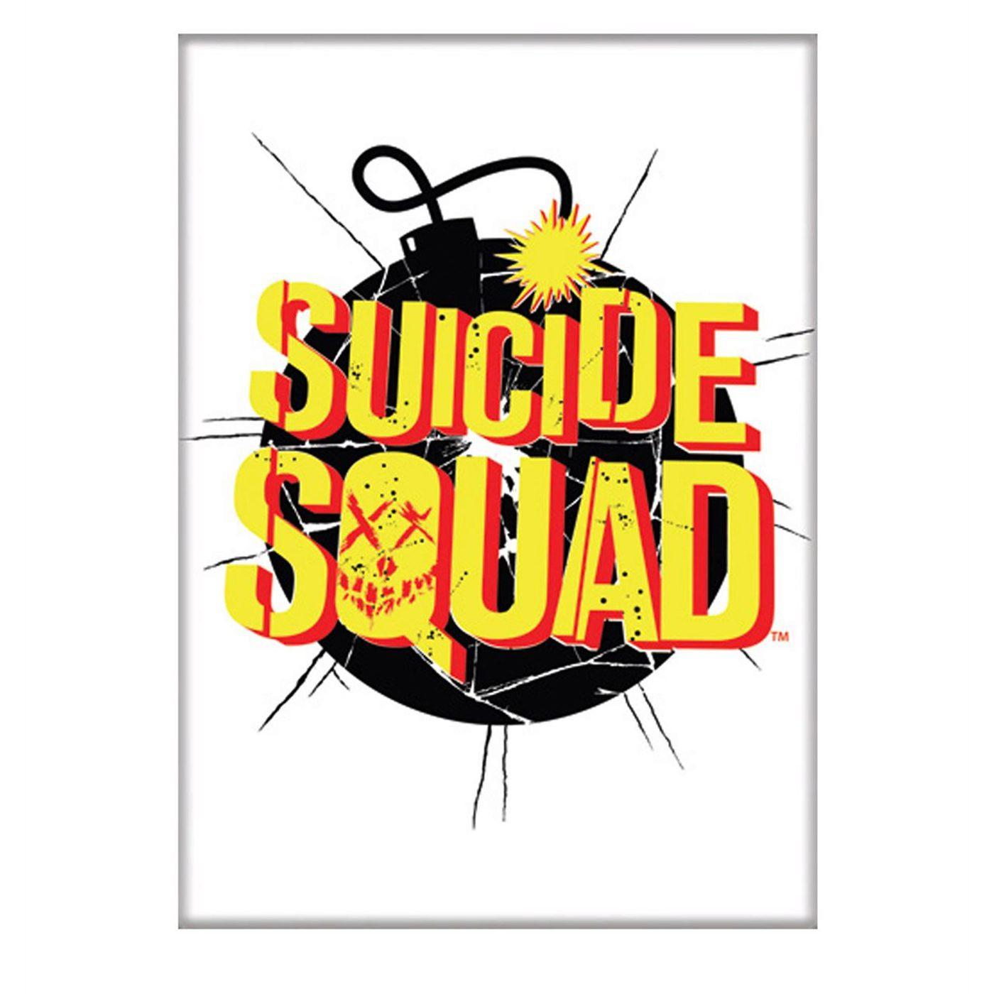 Suicide Squad Logo Magnet