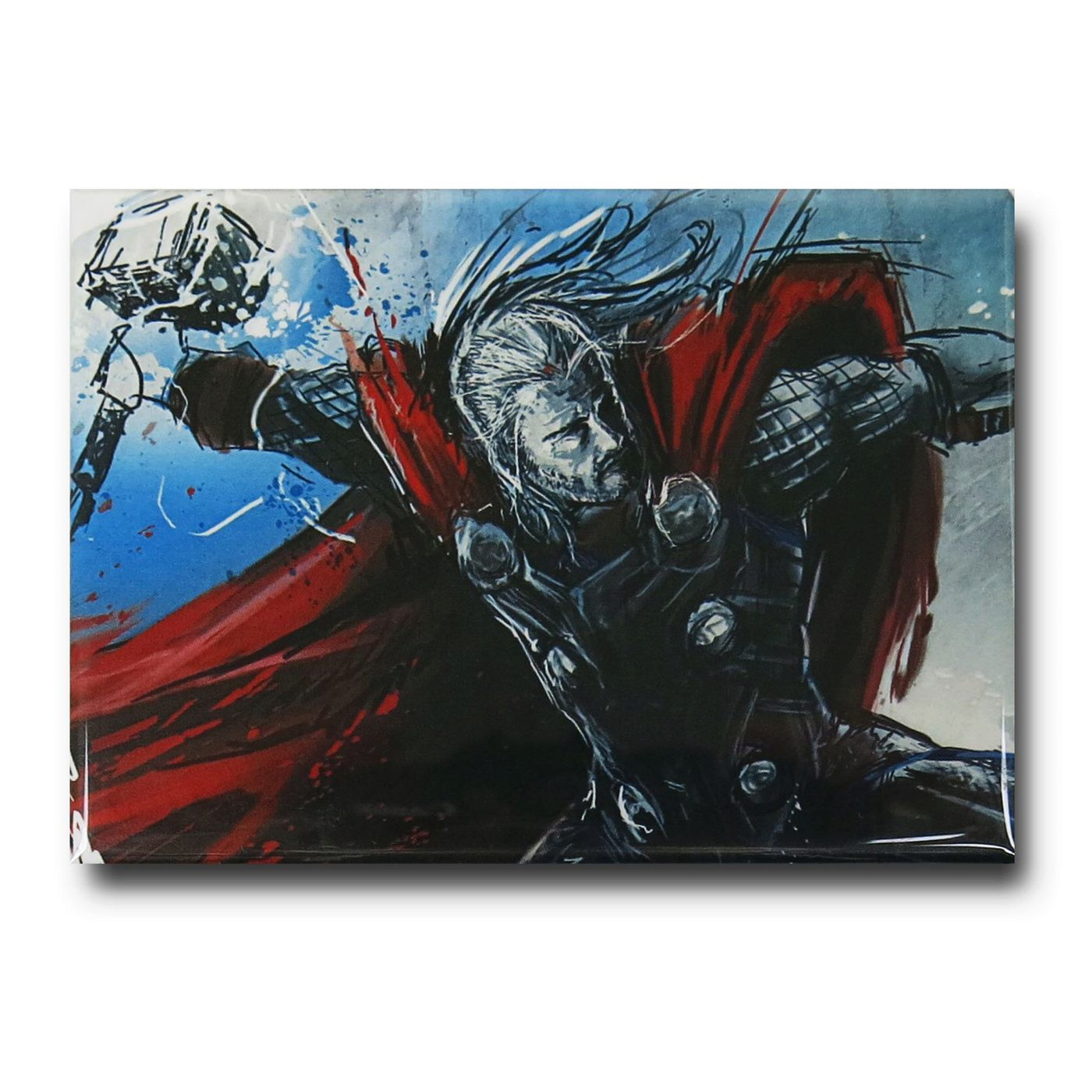 Thor Age of Ultron Distressed Magnet
