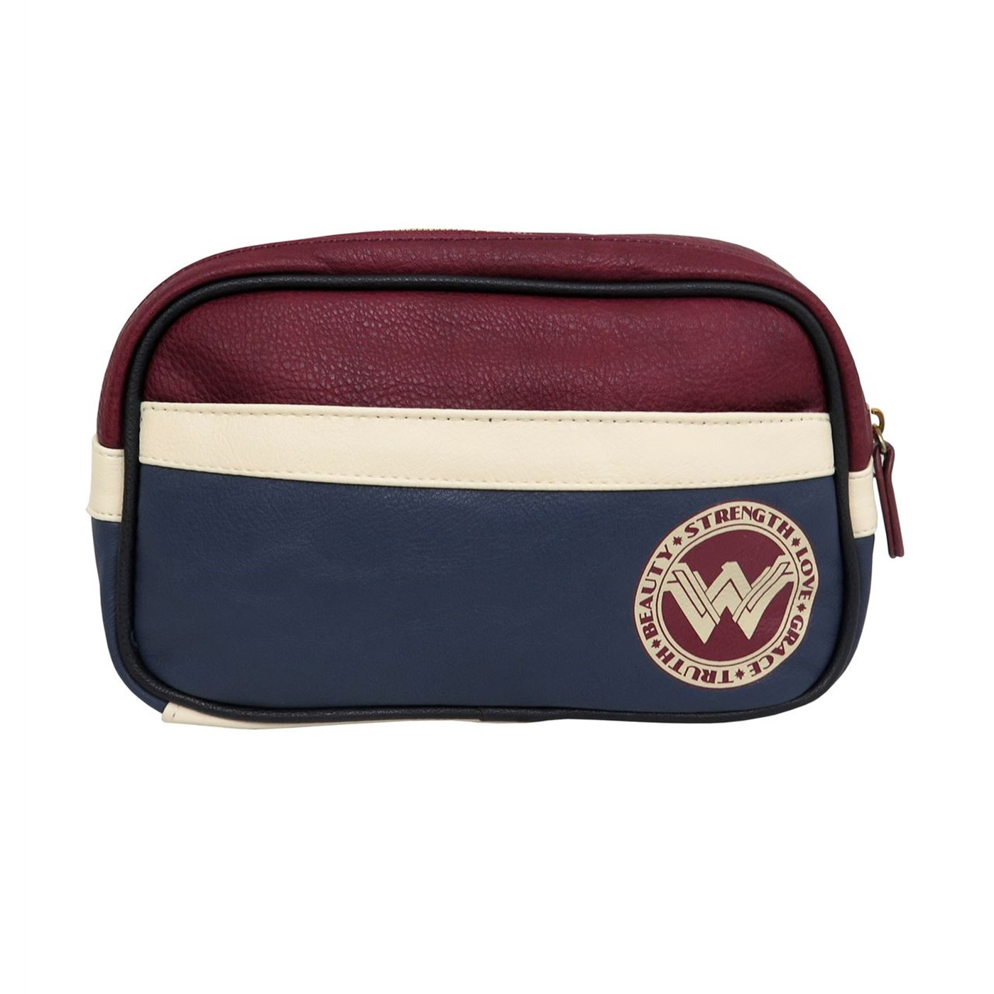 Wonder Woman Fight for Peace Make Up Bag
