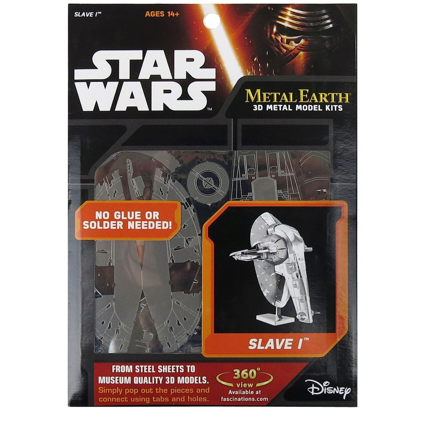 Star Wars Slave 1 Metal Earth Model Kit