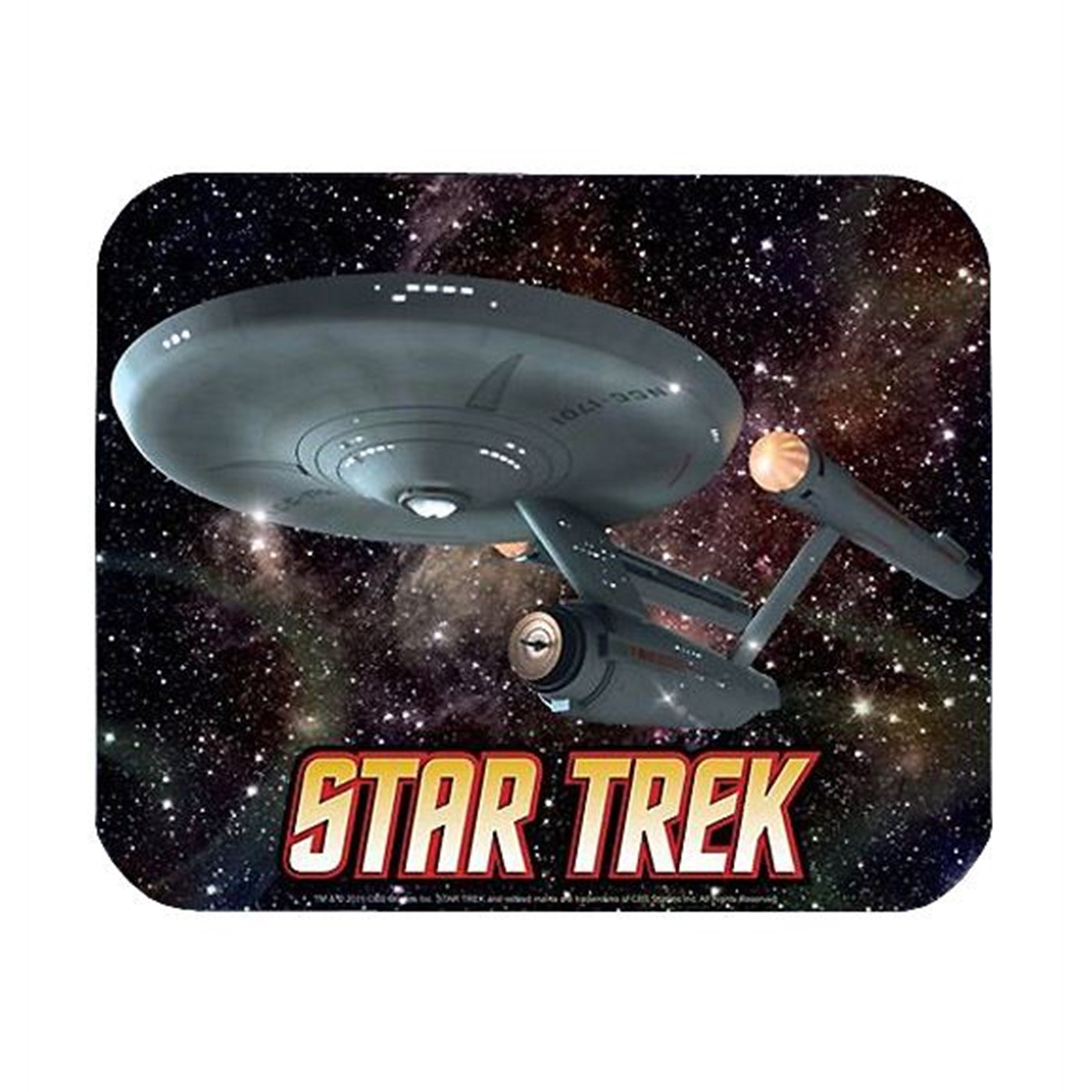 Star Trek Enterprise Mousepad