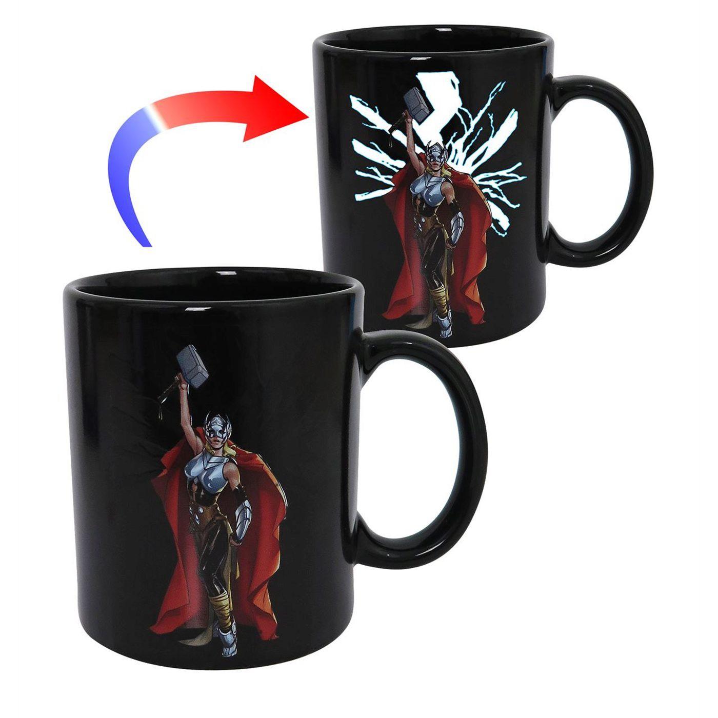 Thor Jane Foster Heat Changing Mug