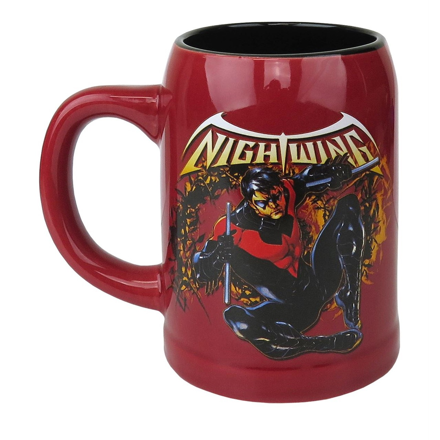 Nightwing 22oz Ceramic Stein Mug