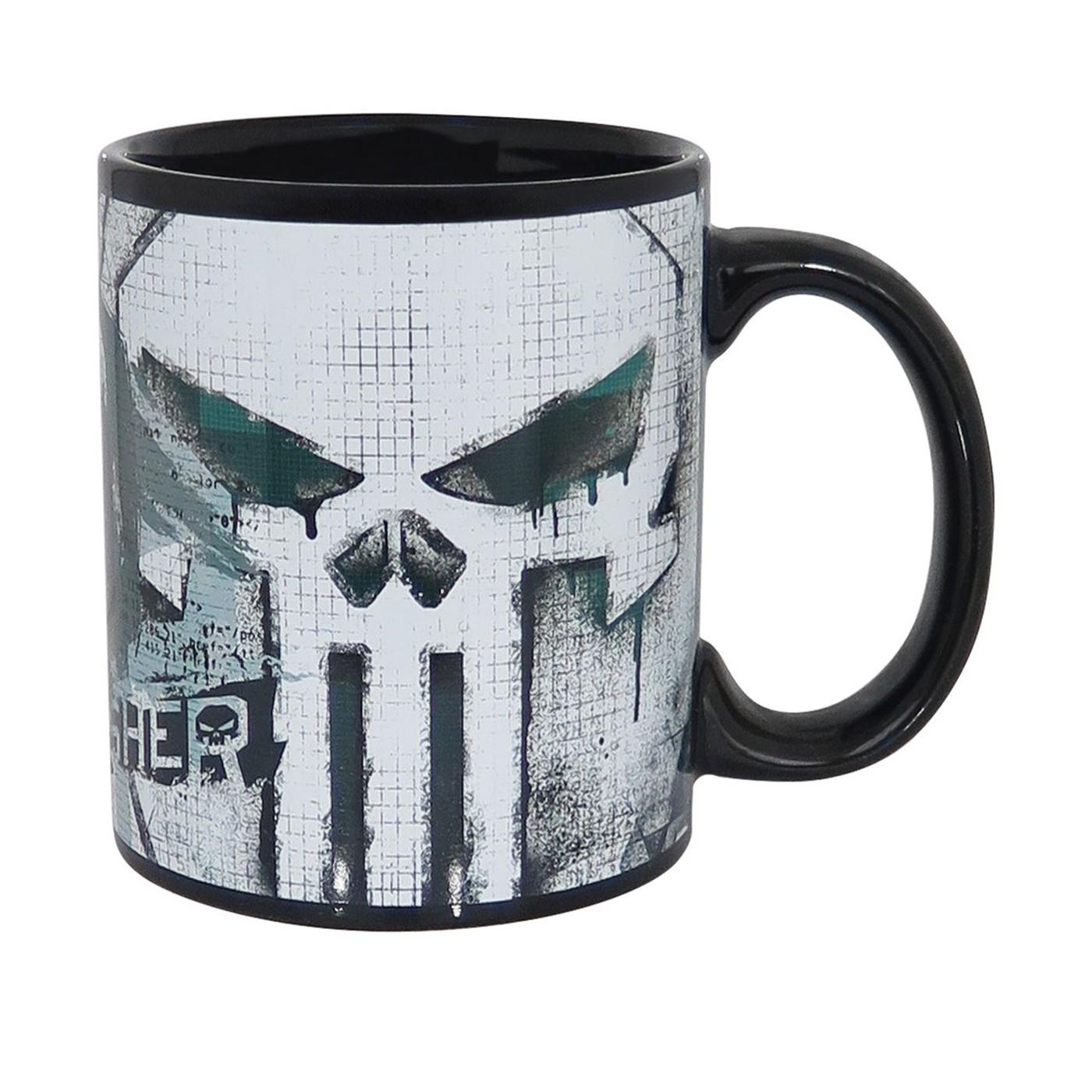 Punisher Watercolor Mug