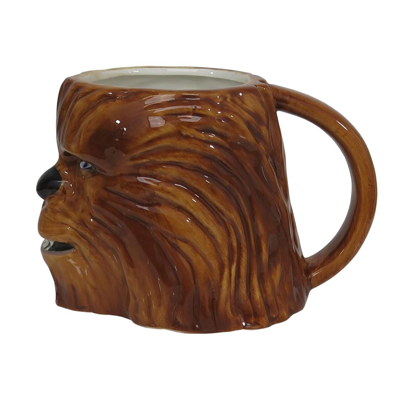 Star Wars Chewbacca Sculpted 11oz Ceramic Mug