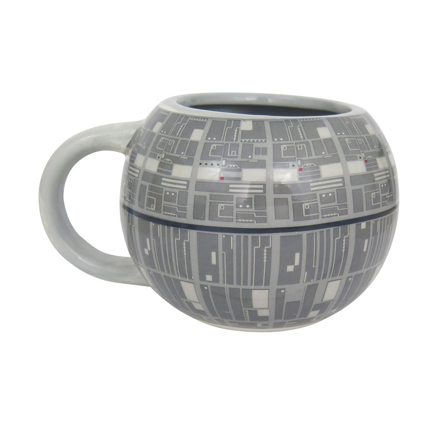 Star Wars Death Star Sculpted Ceramic Mug