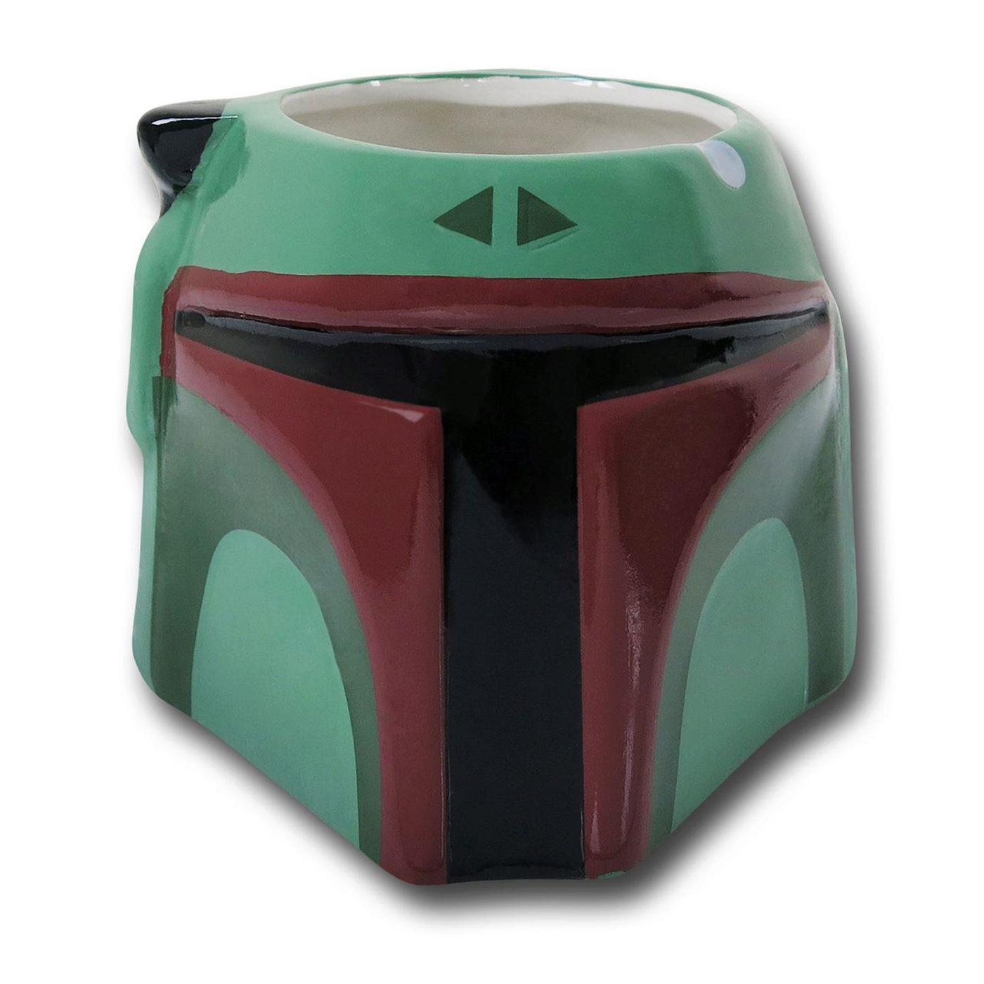 Star Wars Boba Fett Character 16.5 oz Mug