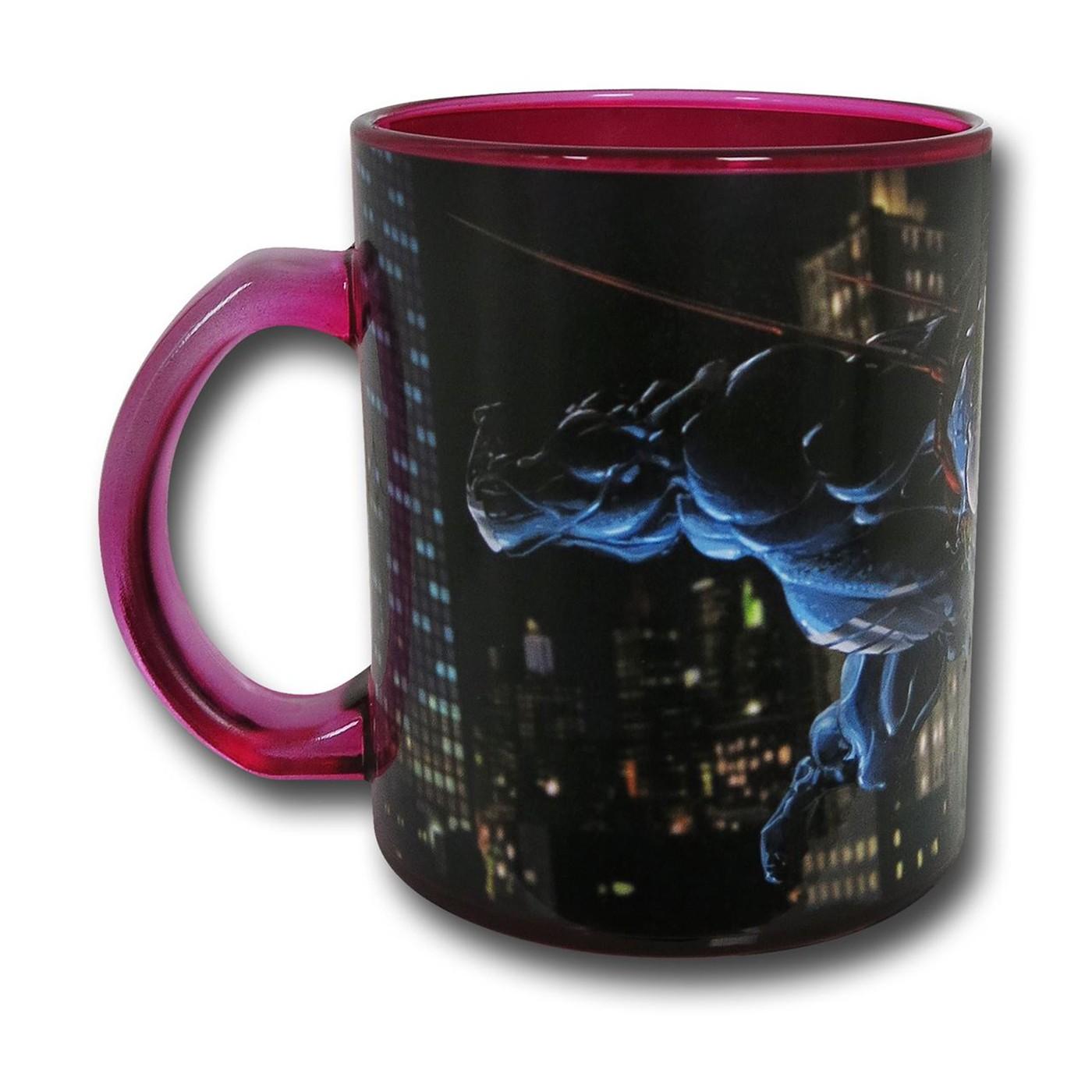Venom Vs Carnage Glass Coffee Mug
