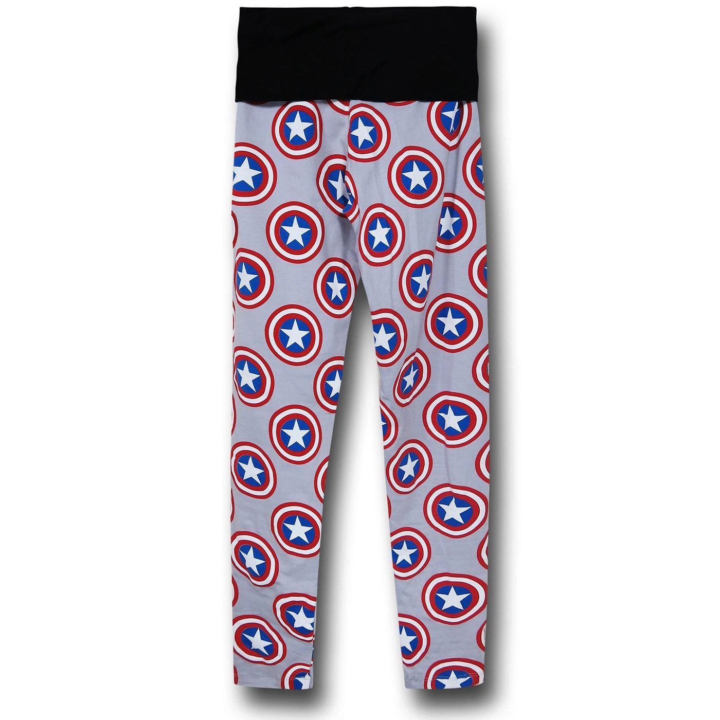 Captain America Shield Yoga Pants
