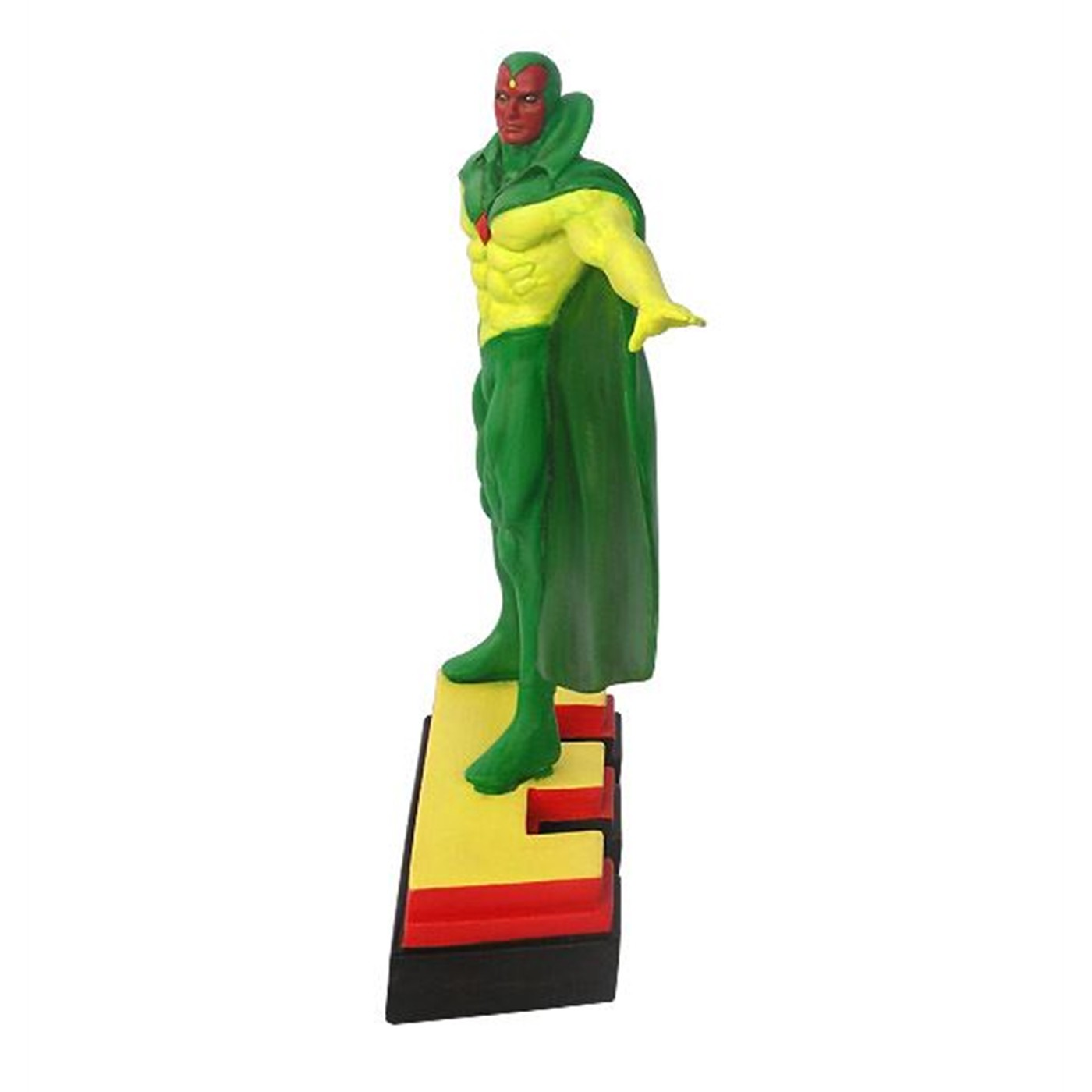 """Vision Avengers """"E"""" Figural Paperweight"""