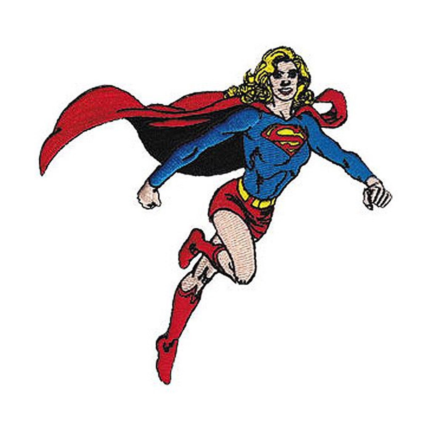 Supergirl Flying Patch