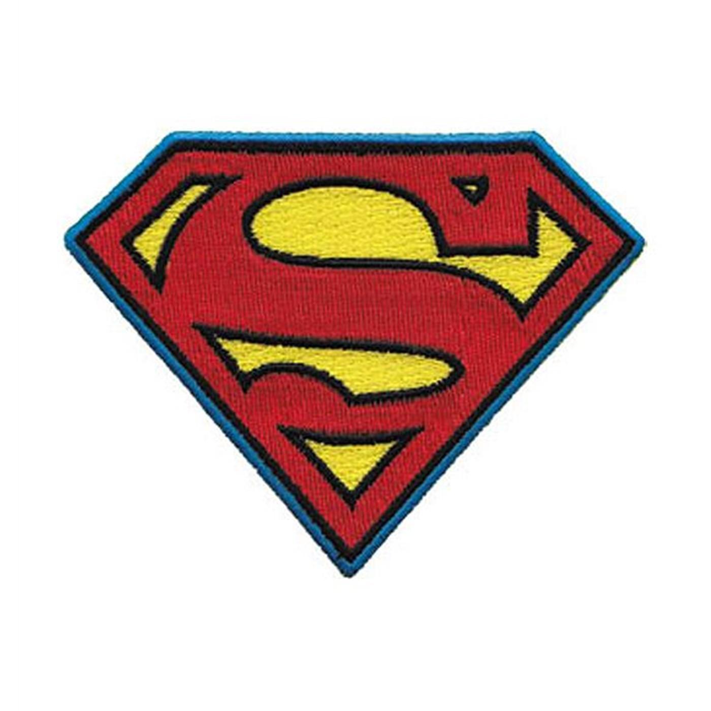 Superman Symbol 4 Inch Patch