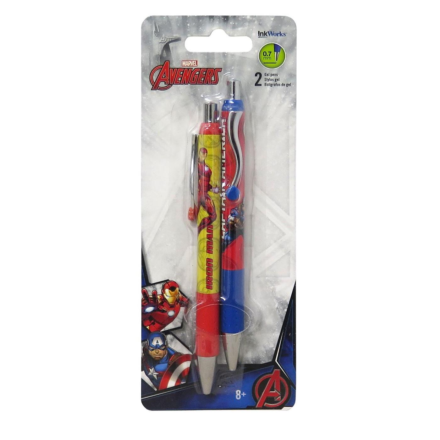 Avengers Gel Pens 2-Pack