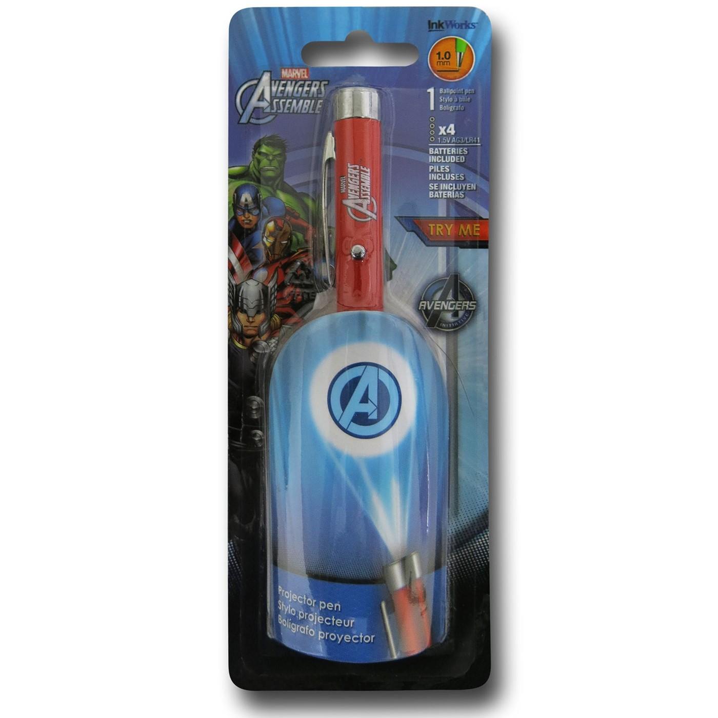 Avengers Symbol Projector Pen