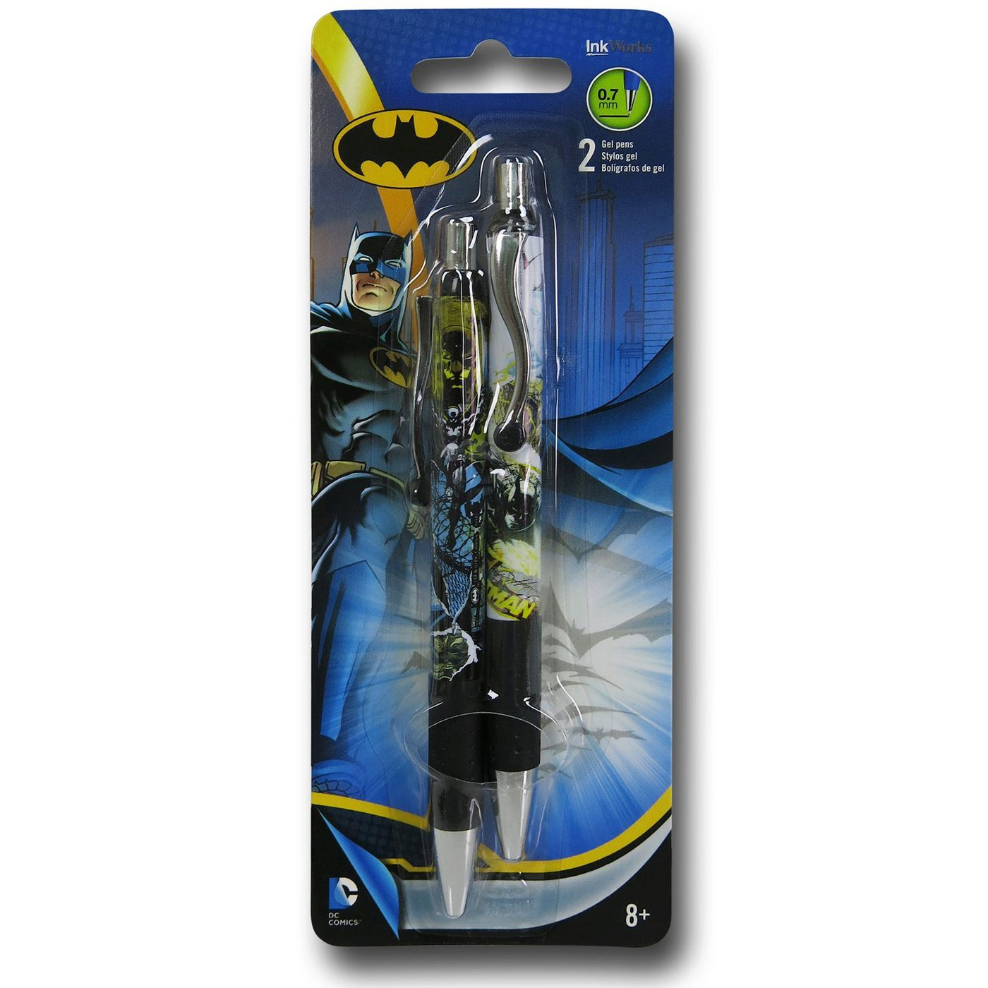 Batman Gel Pen 2-Pack