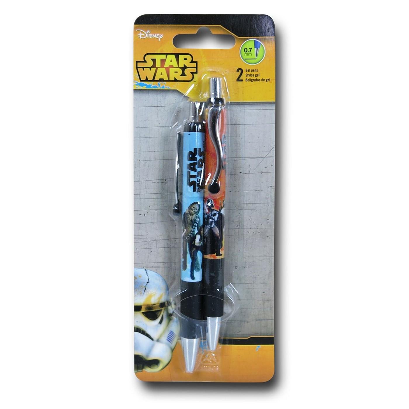 Star Wars Blue Orange Pen 2-Pack