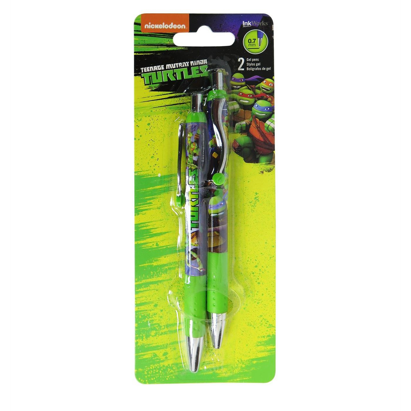 TMNT Gel Pen 2-Pack