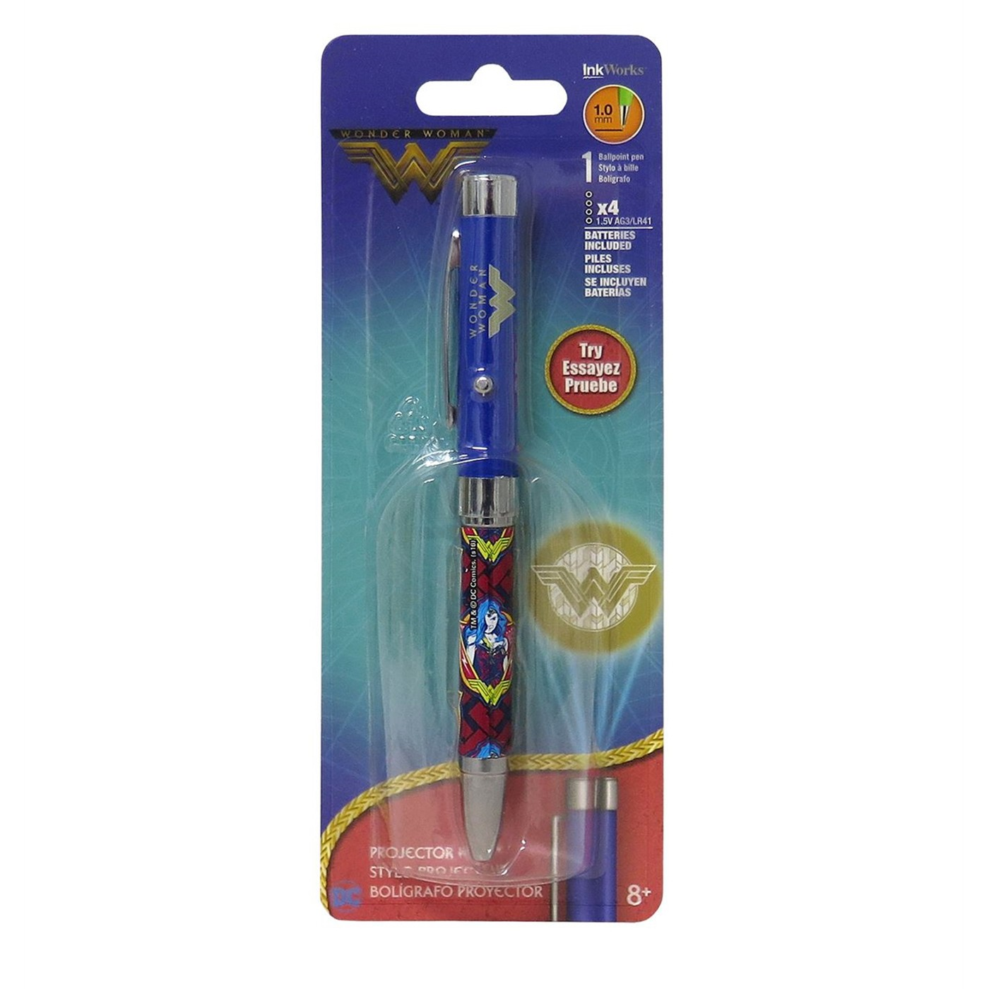 Wonder Woman Symbol Projector Pen