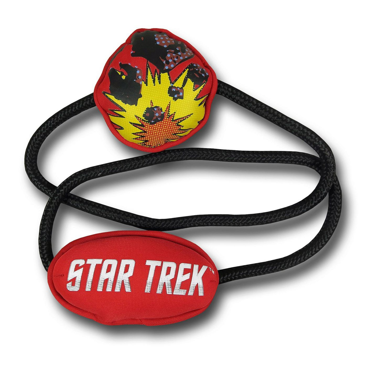 Star Trek Planet Disaster Dog Rope Toy