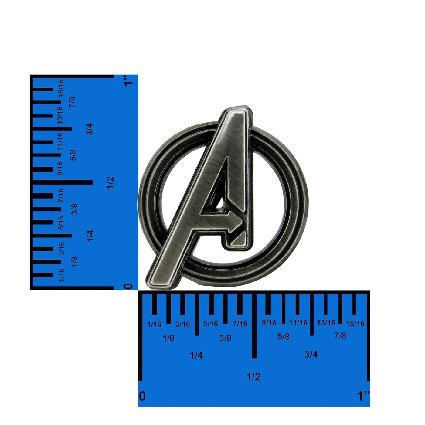 Avengers Symbol Pewter Lapel Pin
