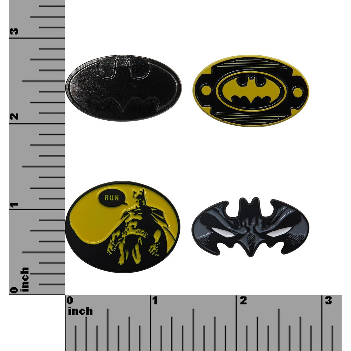 Batman Lapel Pin Set of 4